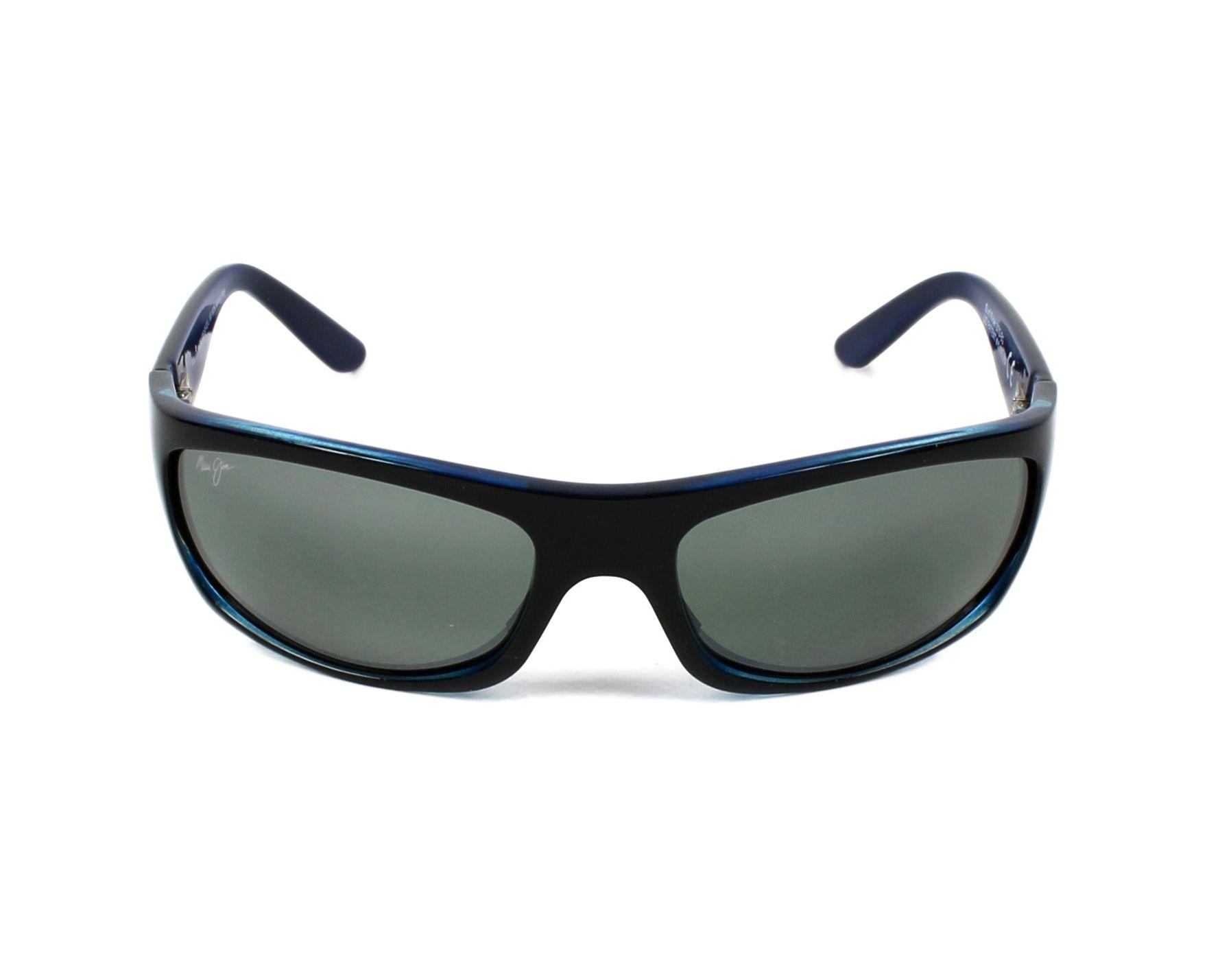 c7779595e9c6 Sunglasses Maui Jim 261 02G - Black front view