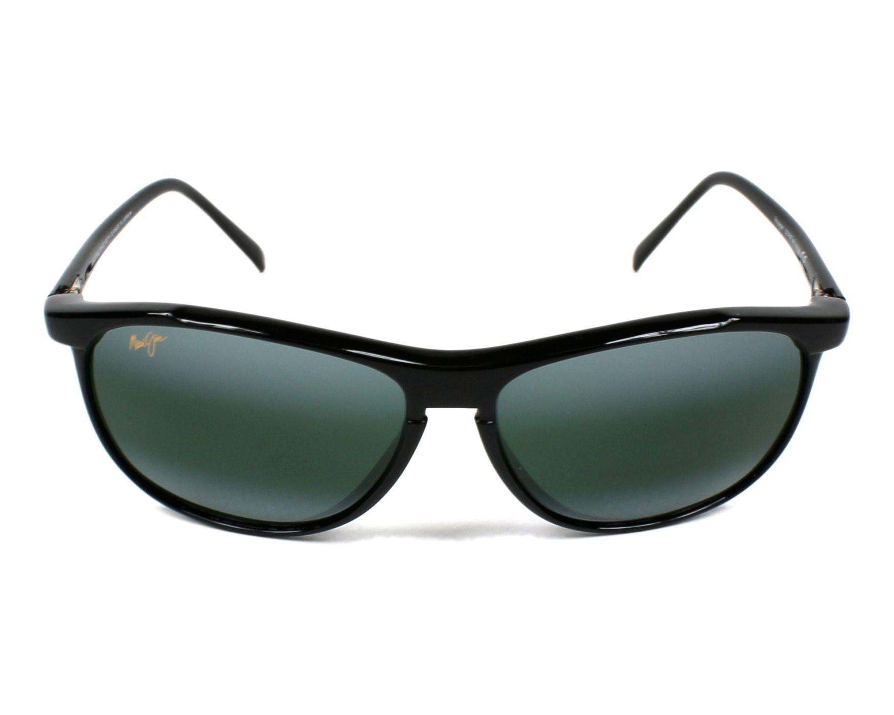 4d5c18e6538b Sunglasses Maui Jim 178 02 - Black front view