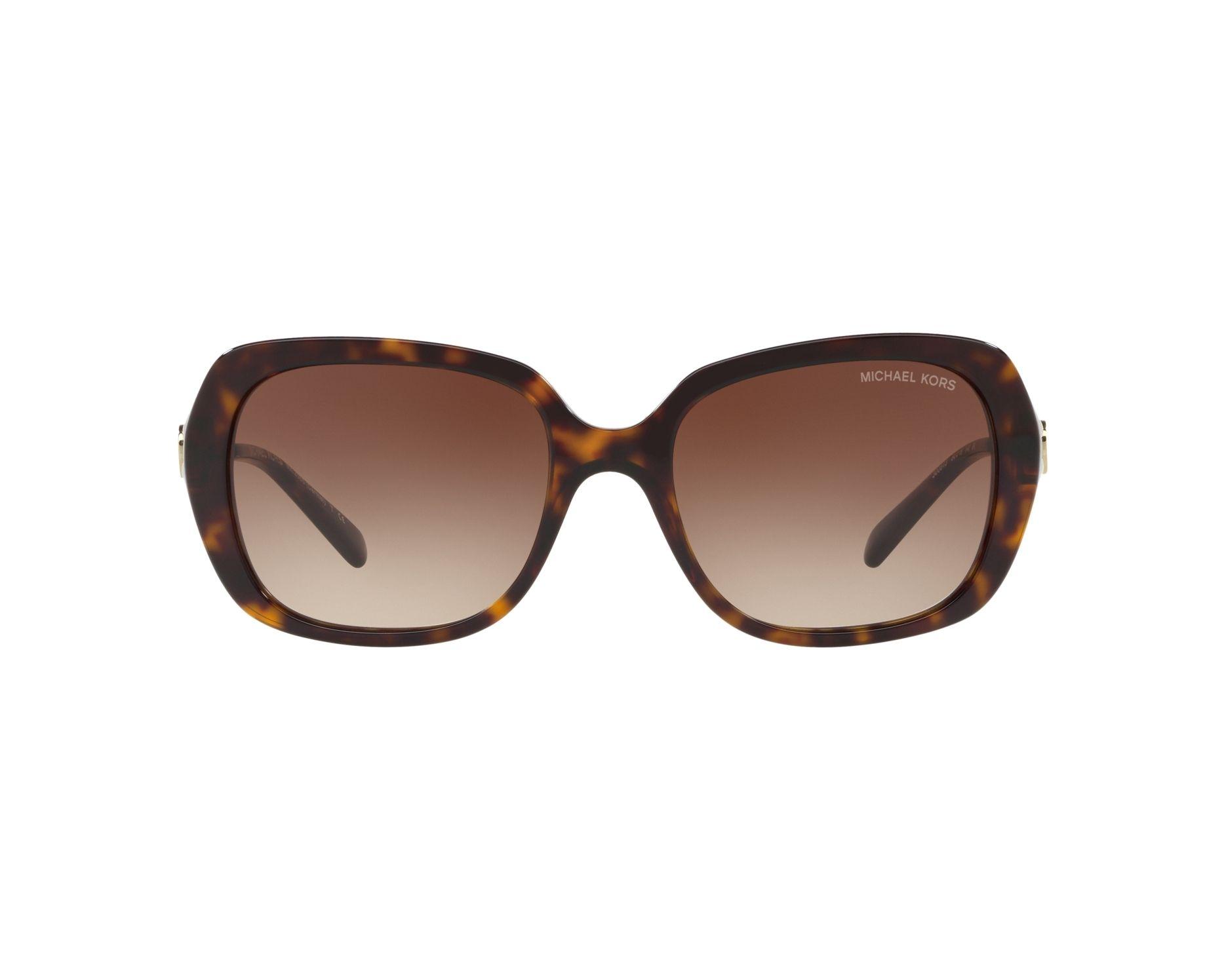 59b2819c87d8 Sunglasses Michael Kors MK-2065 300613 54-18 Havana Gold 360 degree view 1