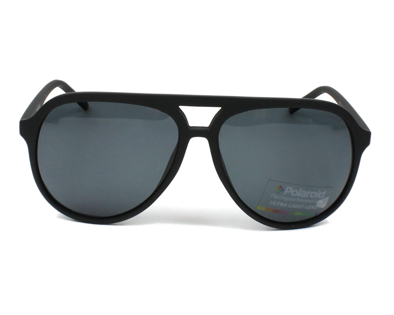 0c40cdfb0905 thumbnail Sunglasses Polaroid PLD-2048-S 003 M9 - Black front view