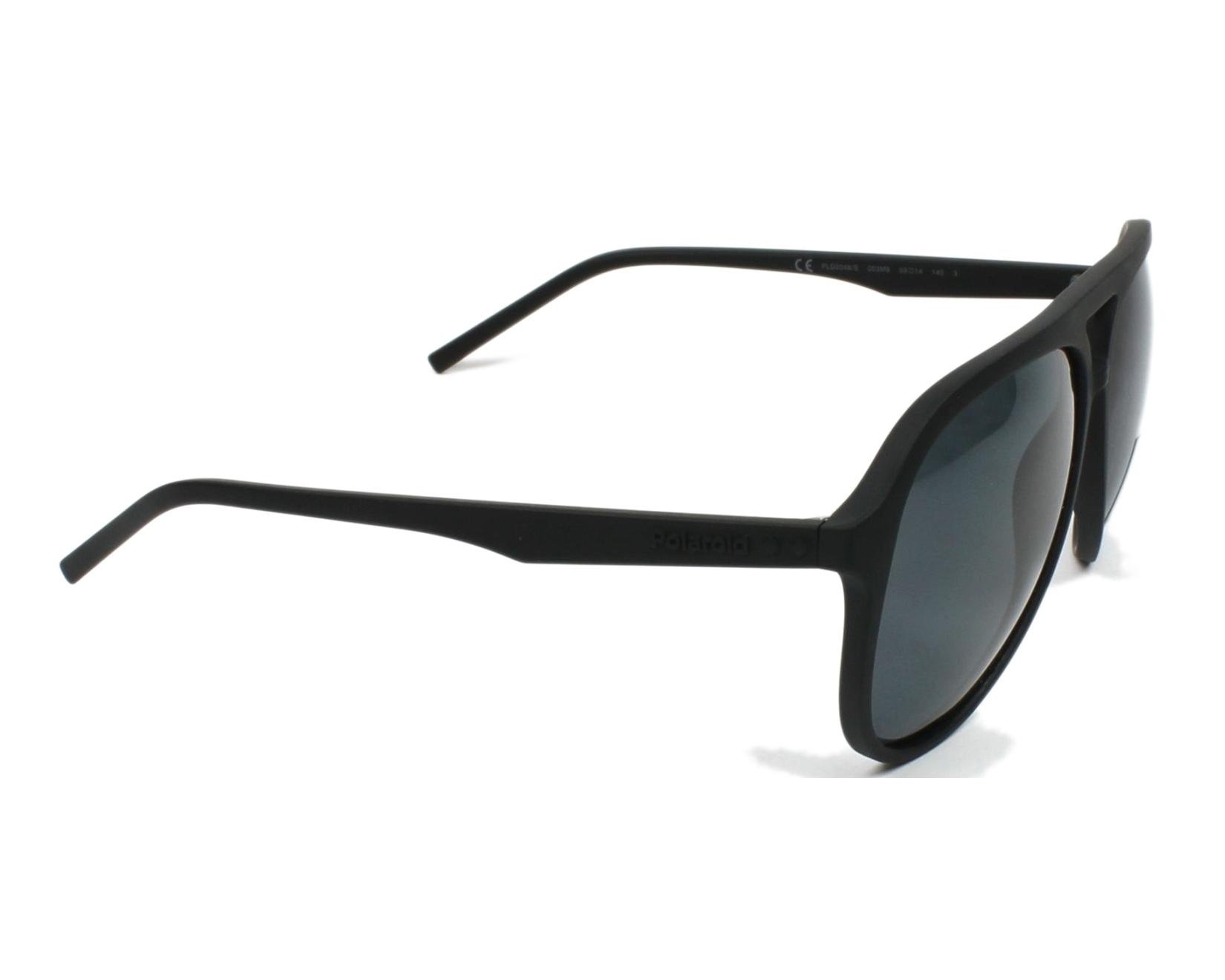 a33cd438d98d thumbnail Sunglasses Polaroid PLD-2048-S 003 M9 - Black side view
