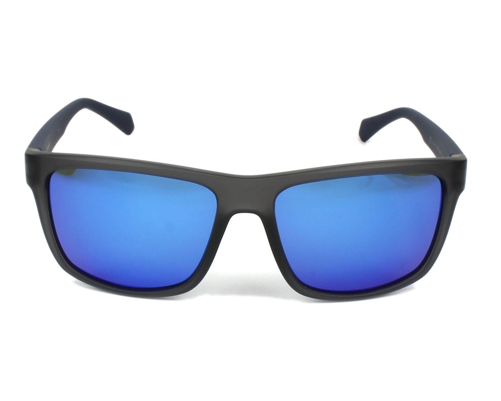5861521479b5 Sunglasses Polaroid PLD-2058-S RCT/5X 55-16 Grey Blue front