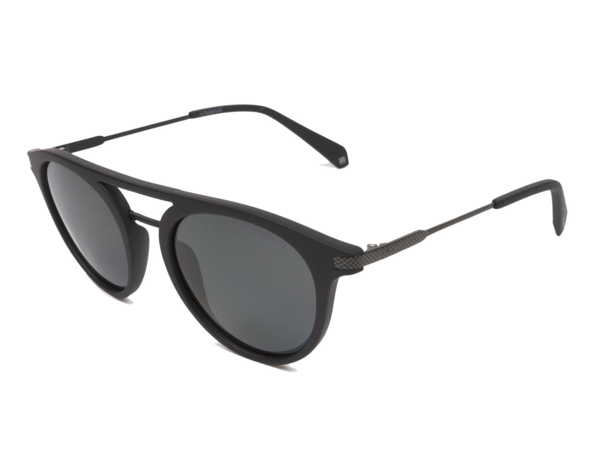 d7e9c08a0 thumbnail Sunglasses Polaroid PLD-2061-S 003/M9 - Black Black profile view