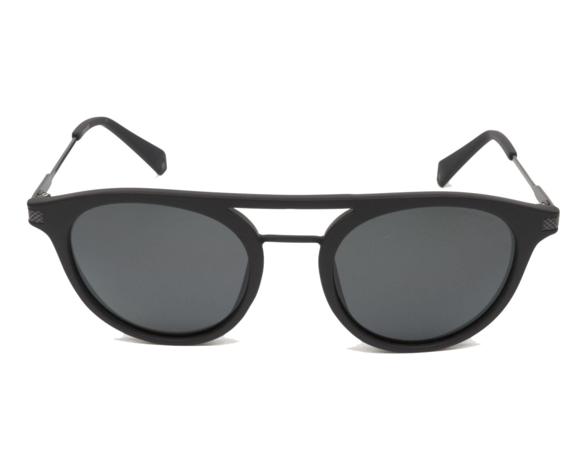09628d2dc thumbnail Sunglasses Polaroid PLD-2061-S 003/M9 - Black Black front view