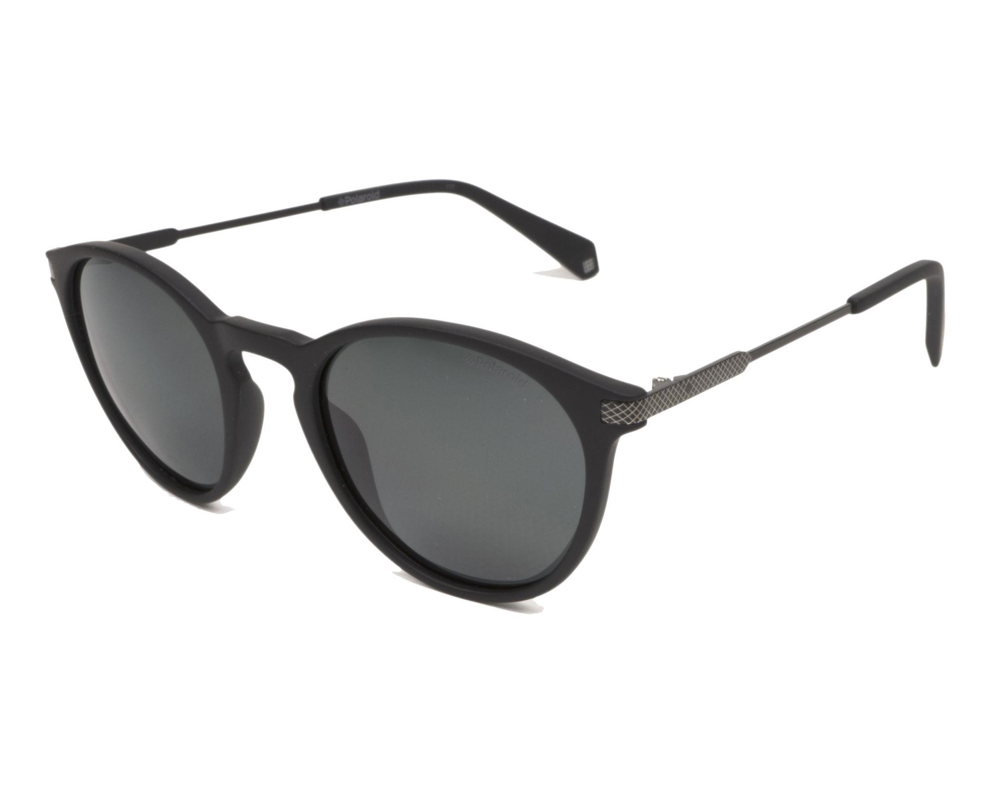 72232a332bd Sunglasses Polaroid PLD-2062-S 003 M9 50-22 Black Gun profile