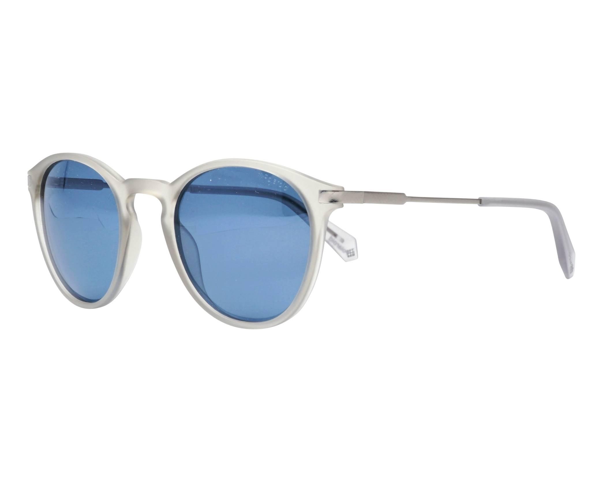 9a703885bbb Sunglasses Polaroid PLD-2062-S RIWXN 50-22 Crystal Gun profile view