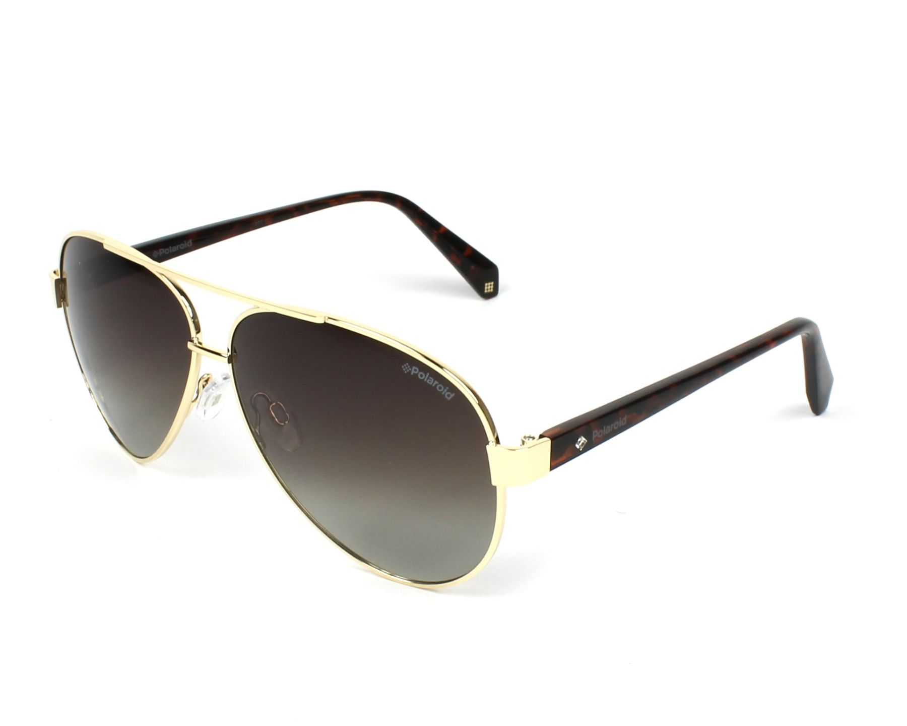 191e26cd644 Polarized. Sunglasses Polaroid PLD-4061-S J5G LA 61-11 Gold Havana profile