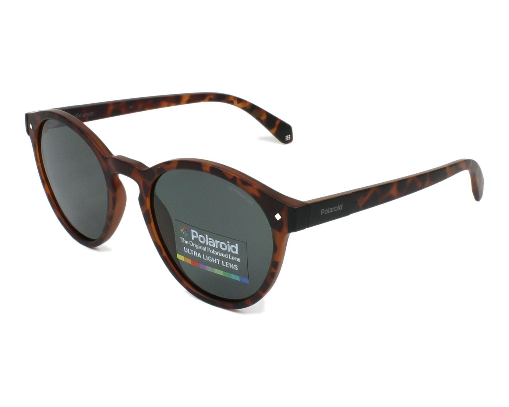 a6cff774b71 Sunglasses Polaroid PLD-6034-S N9P M9 51-21 Havana profile view