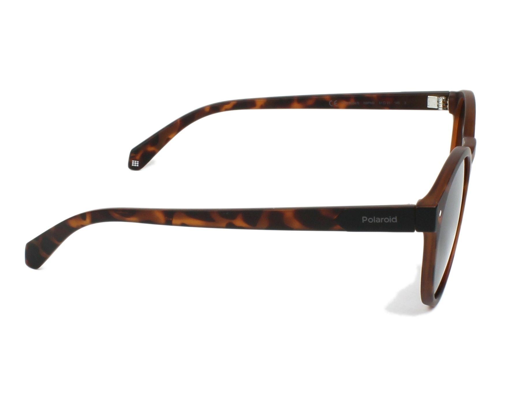 68b0d241103 Sunglasses Polaroid PLD-6034-S N9P M9 51-21 Havana side view