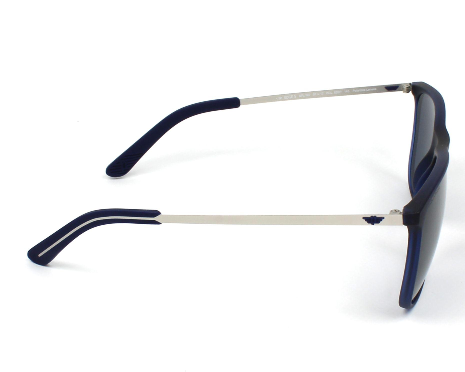 46a1ad44e8 Sunglasses Police SPL-567 92EP 57-17 Blue Gun side view