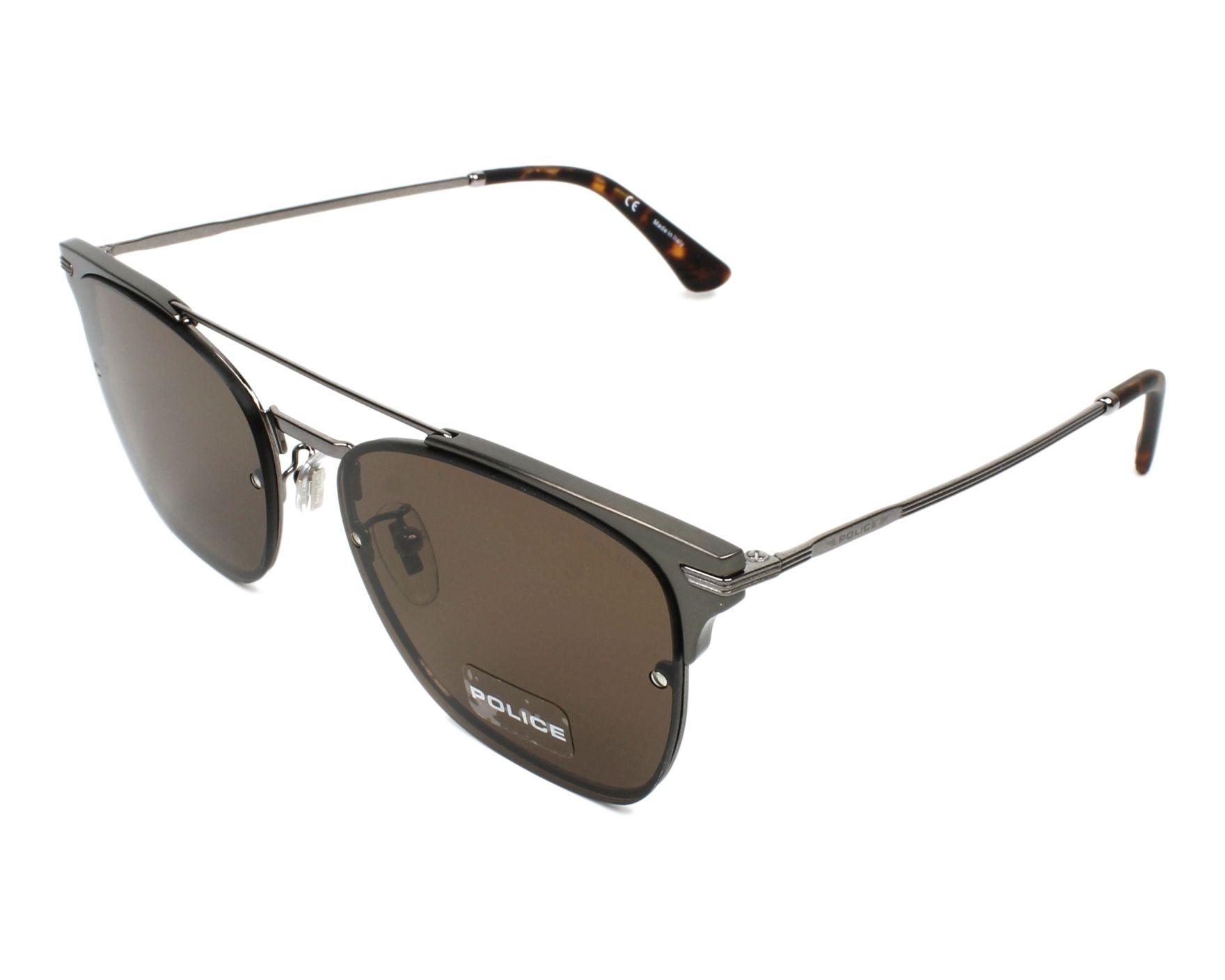 63edae5cebd Sunglasses Police SPL-577 0568 - Gun Gun profile view