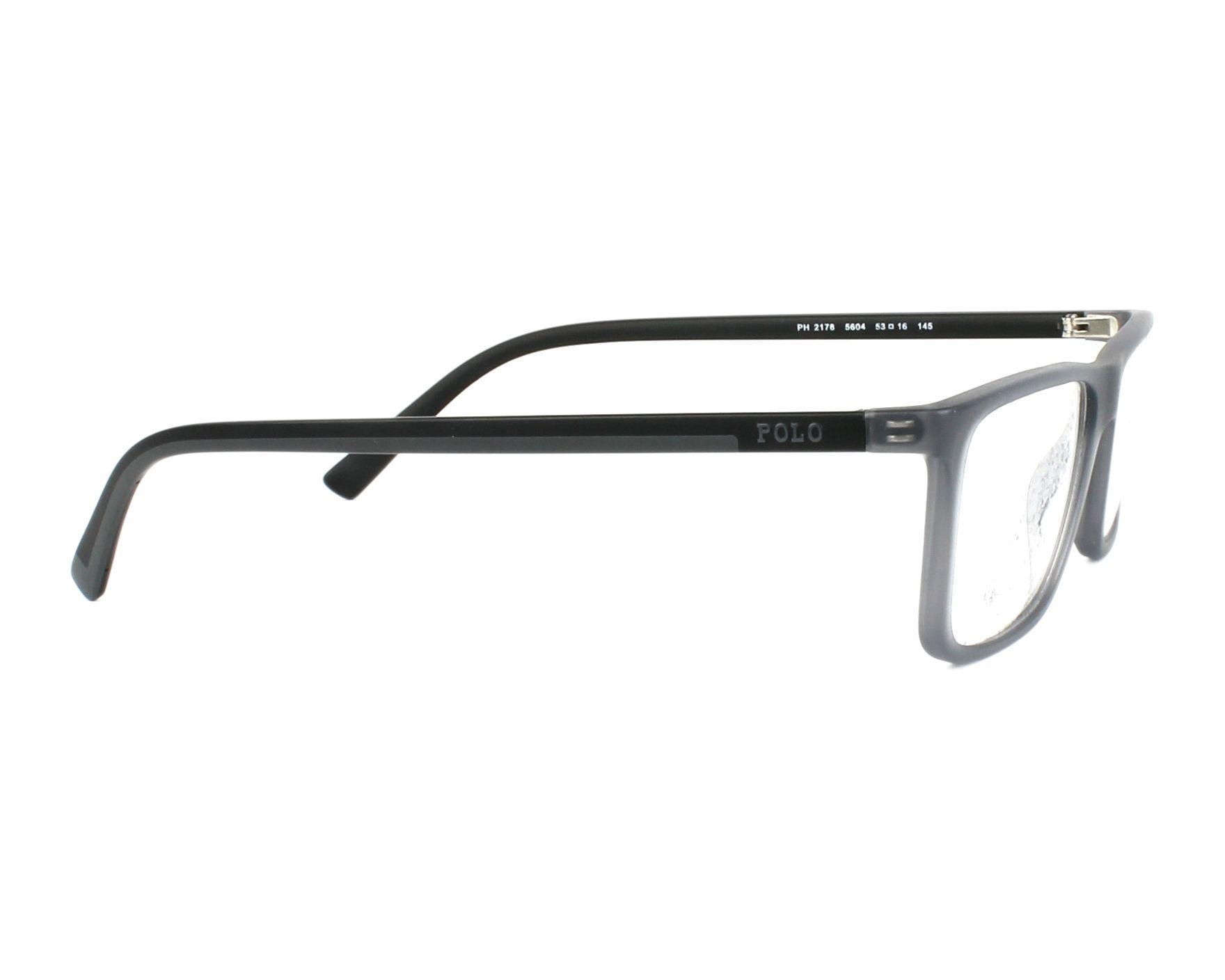 7970baf1ae9 eyeglasses Polo Ralph Lauren PH-2178 5604 53-16 Grey side view