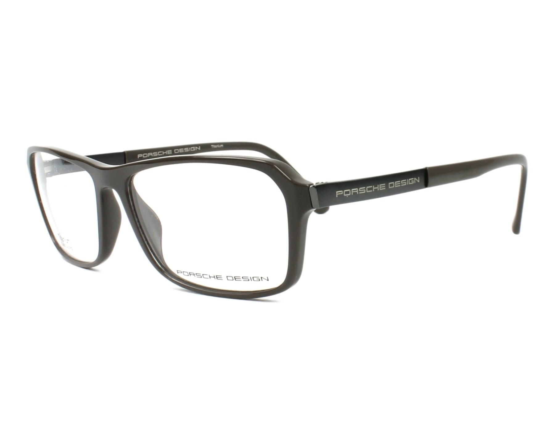 088384333fe3 eyeglasses Porsche Design P-8267 A 55-14 Grey Gun profile view