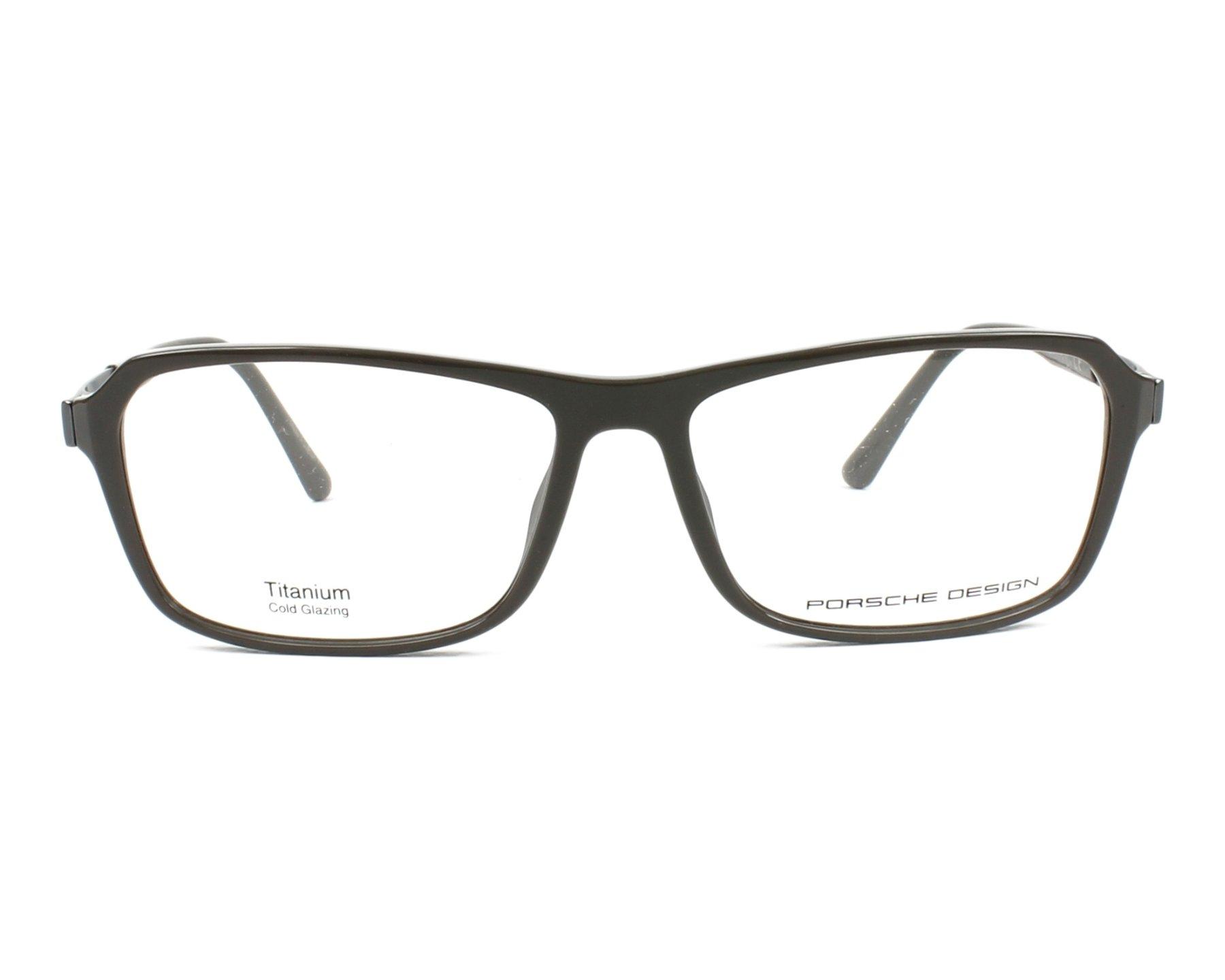 f5804d118f6f eyeglasses Porsche Design P-8267 A 55-14 Grey Gun front view