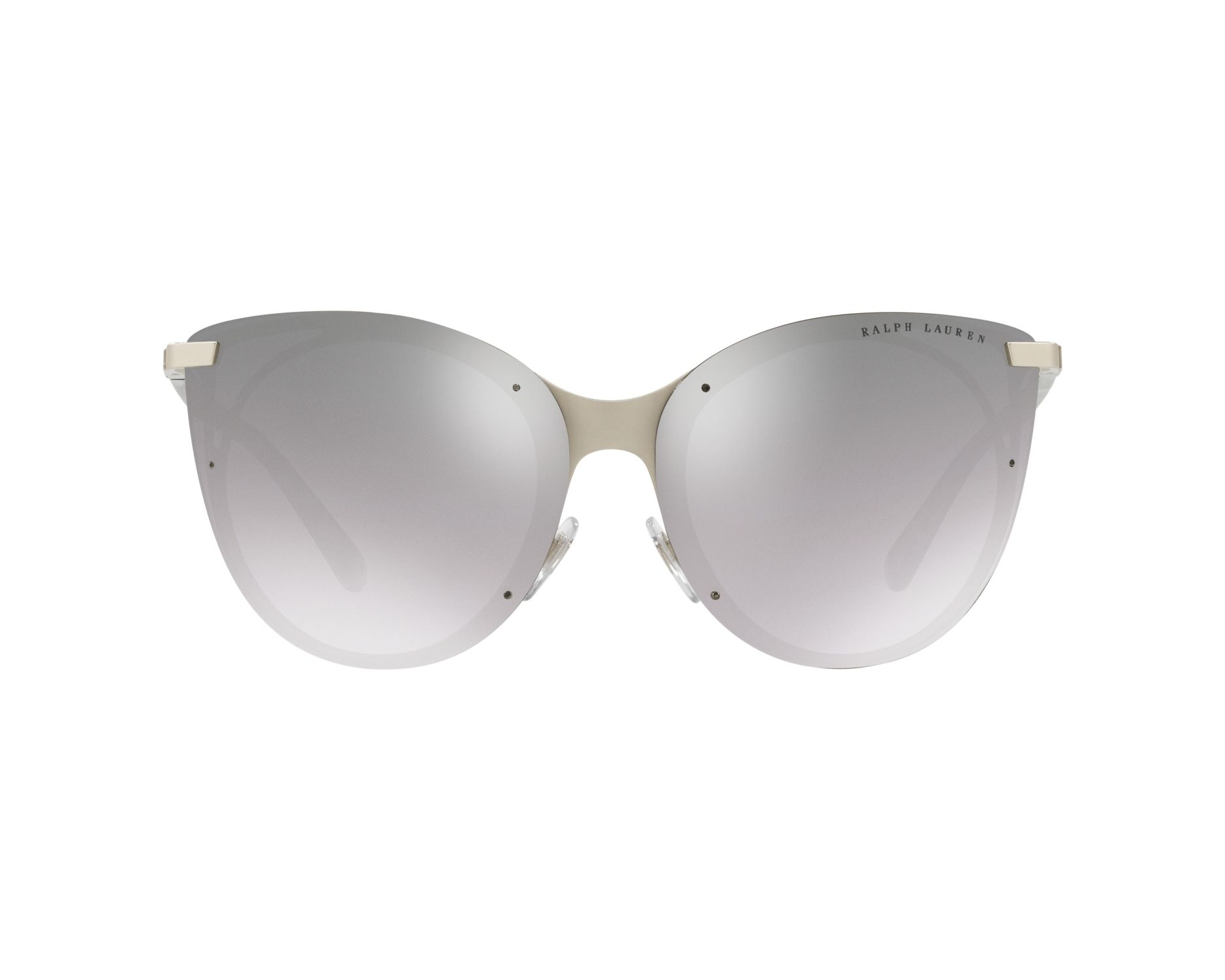 4d43fd6aa01f Sunglasses Ralph Lauren RL-7059 90016V 63-14 Silver Grey 360 degree view 1