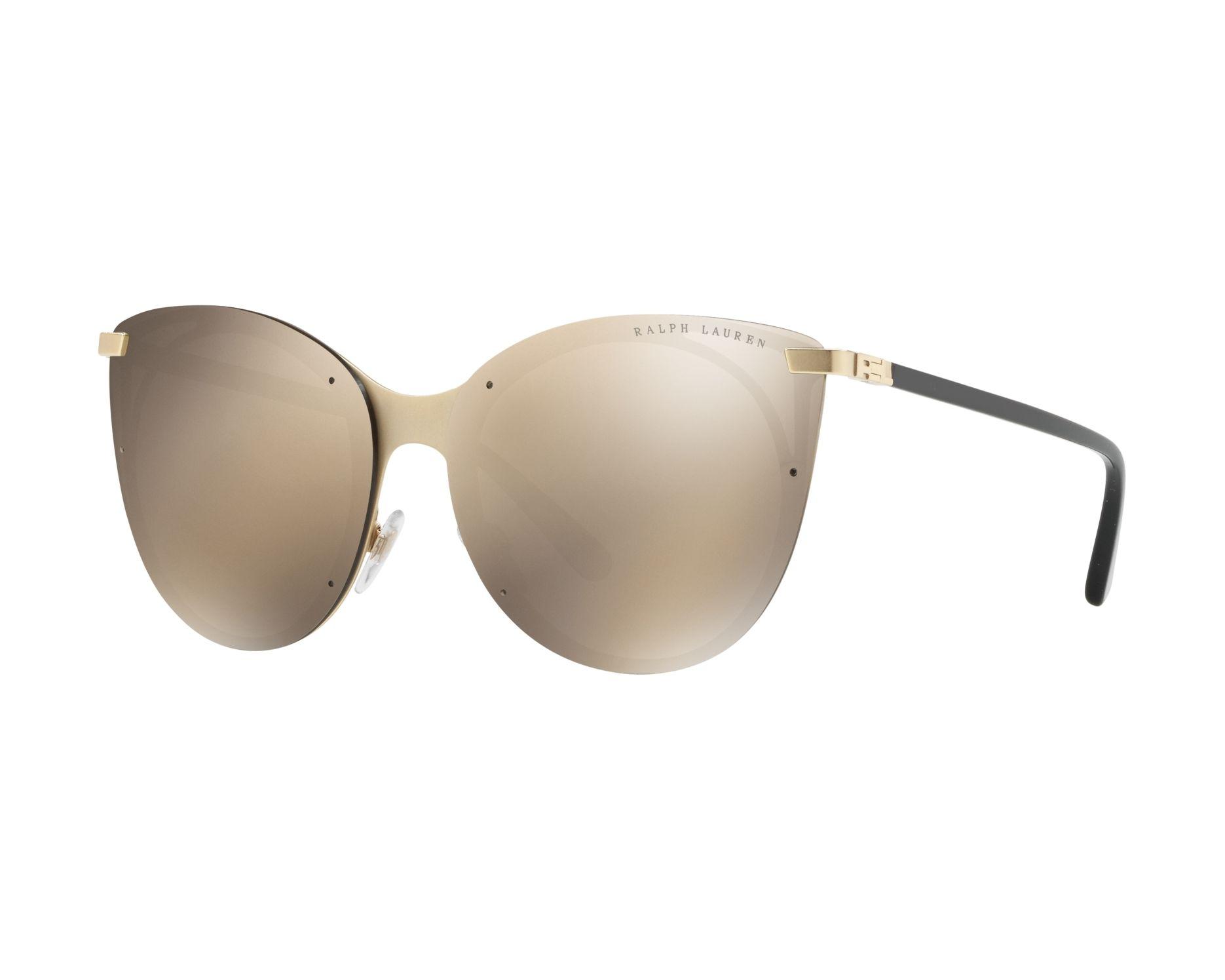 898184c3cb9a Sunglasses Ralph Lauren RL-7059 91165A 63-14 Gold Black