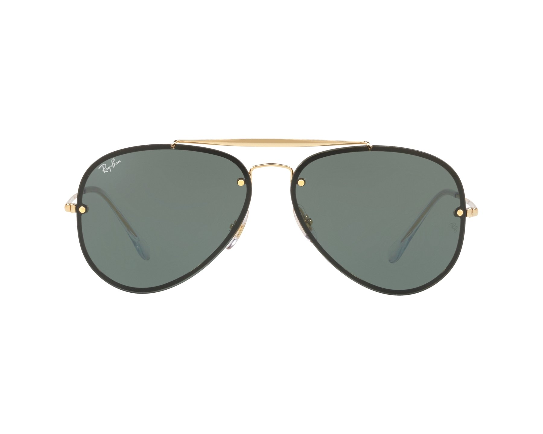eec9e86d447 Sunglasses Ray-Ban RB-3584-N 905071 58-13 Gold 360 degree