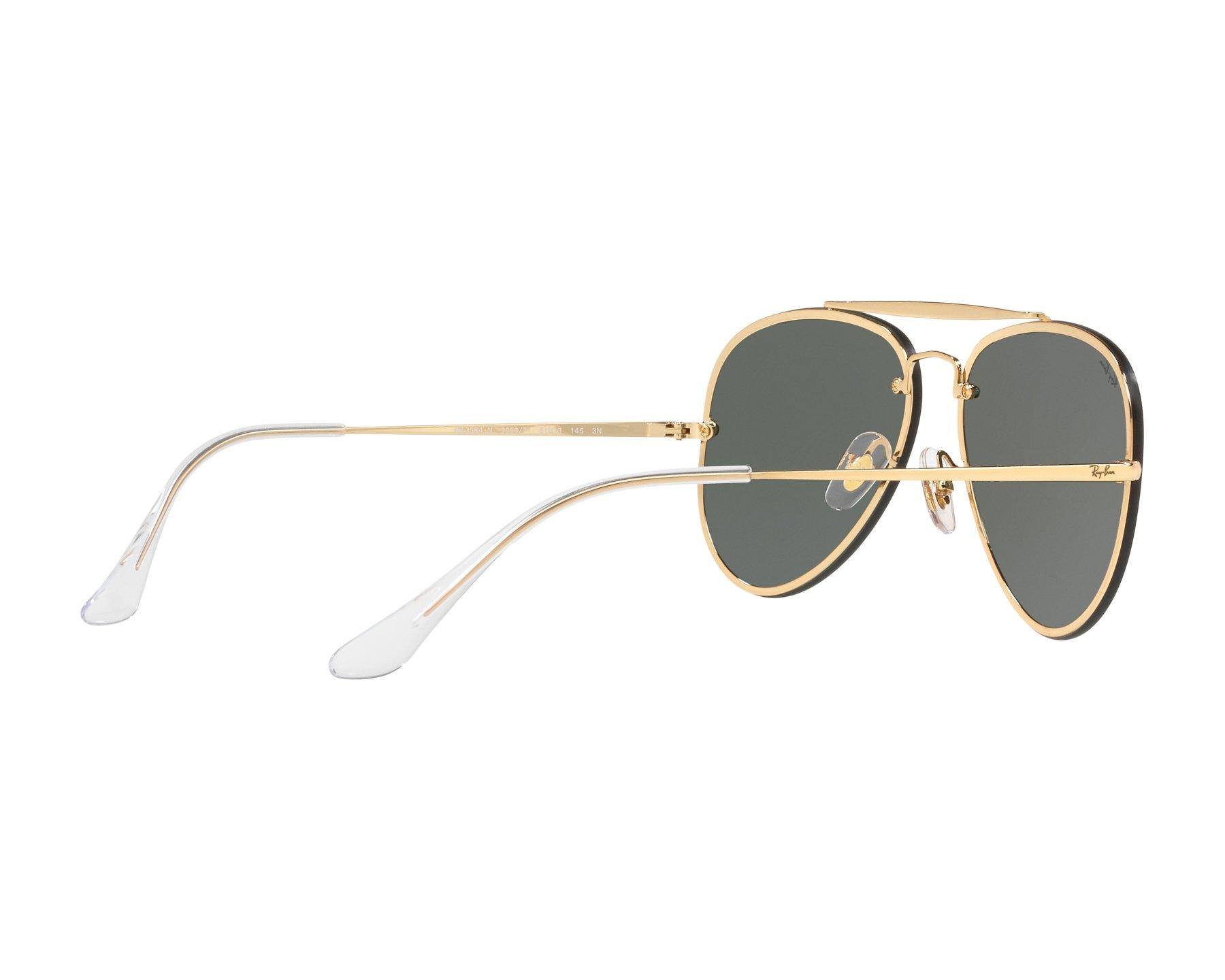 0d829ba1527 Sunglasses Ray-Ban RB-3584-N 905071 58-13 Gold 360 degree