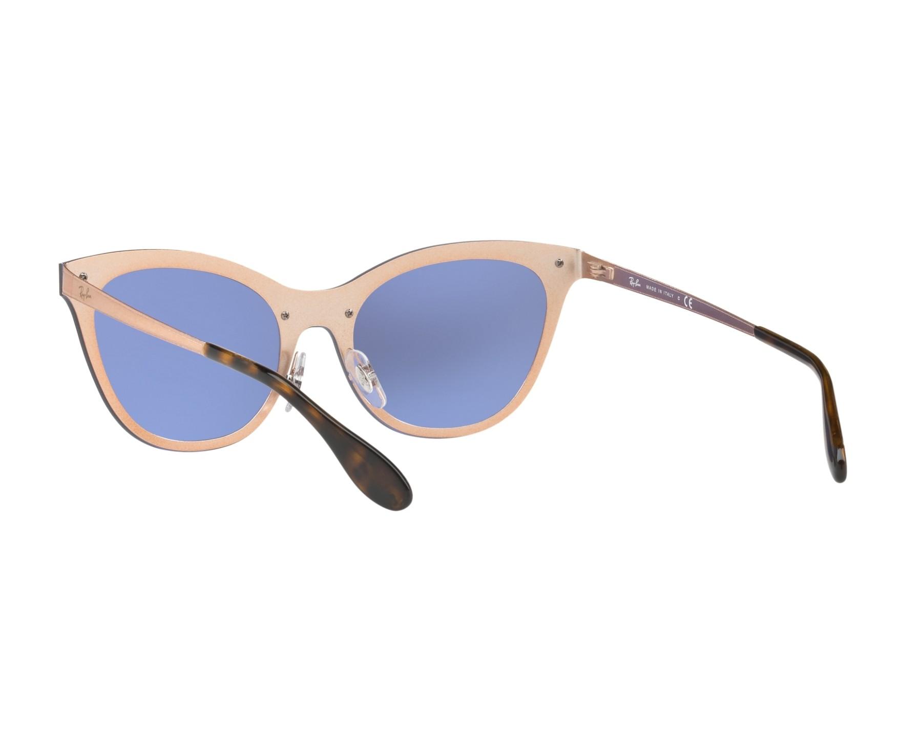 df35aa32f Sunglasses Ray-Ban RB-3580-N 90391U 43- Brass 360 degree view