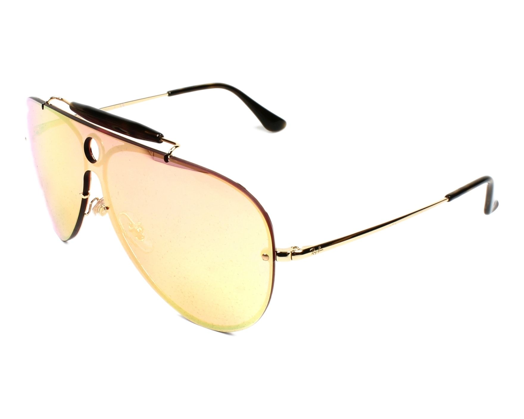 c326dc007d Sunglasses Ray-Ban RB-3581-N 001 E4 - Gold profile view