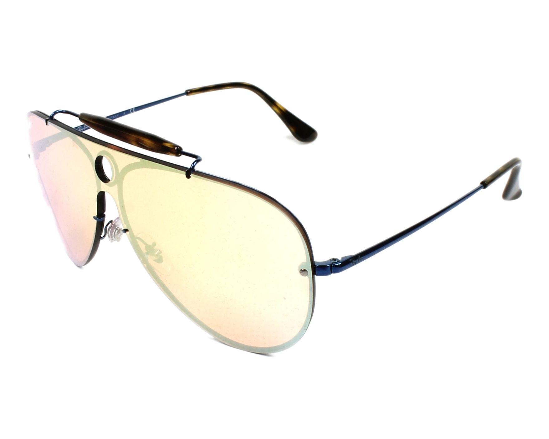143b7a010ac thumbnail Sunglasses Ray-Ban RB-3581-N 90387J - Blue Havana profile view
