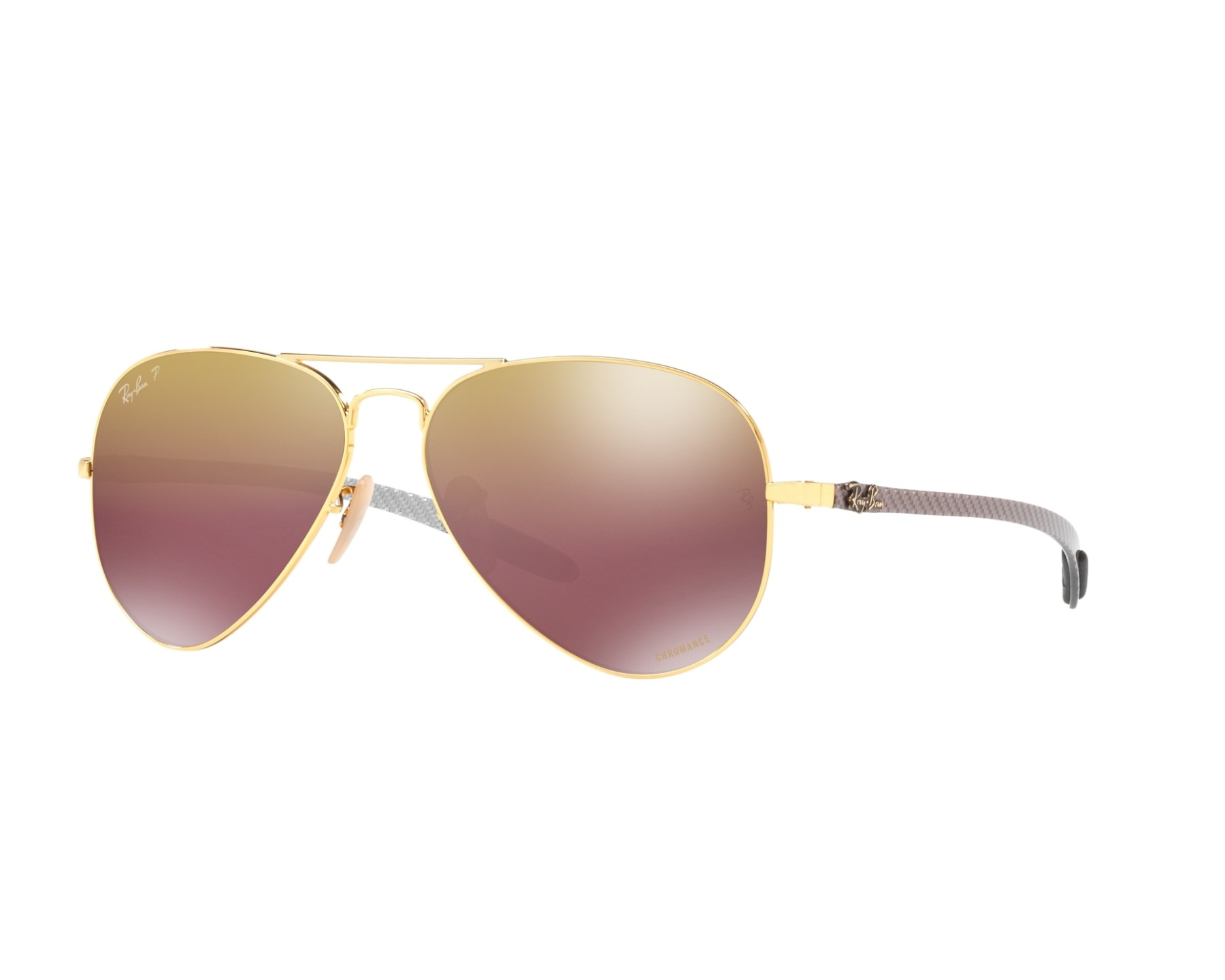 f01effe60c Sunglasses Ray-Ban RB-8317-CH 001 6B 58-14 Gold