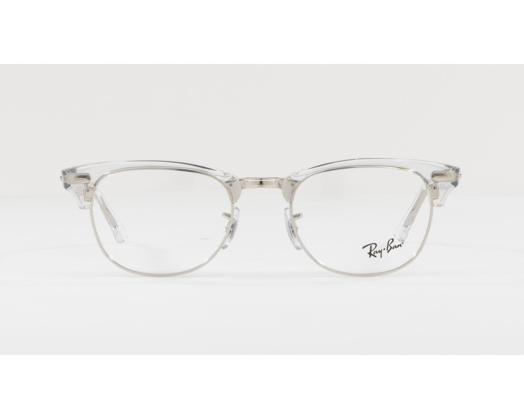 eyeglasses Ray-Ban RX-5154 2001 49-21 Crystal Silver 360 degree view d0052879f277