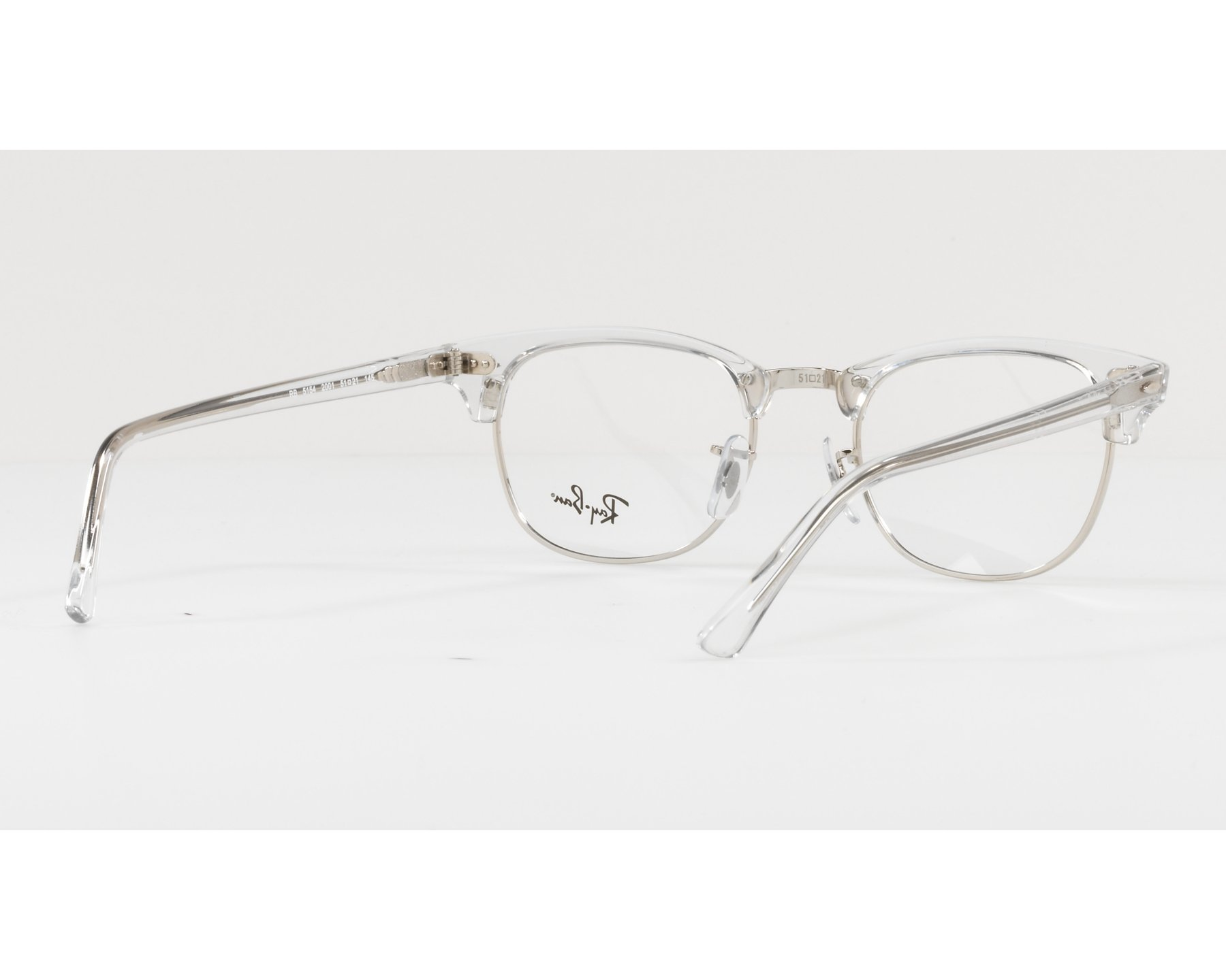 541923996f1 eyeglasses Ray-Ban RX-5154 2001 49-21 Crystal Silver 360 degree view