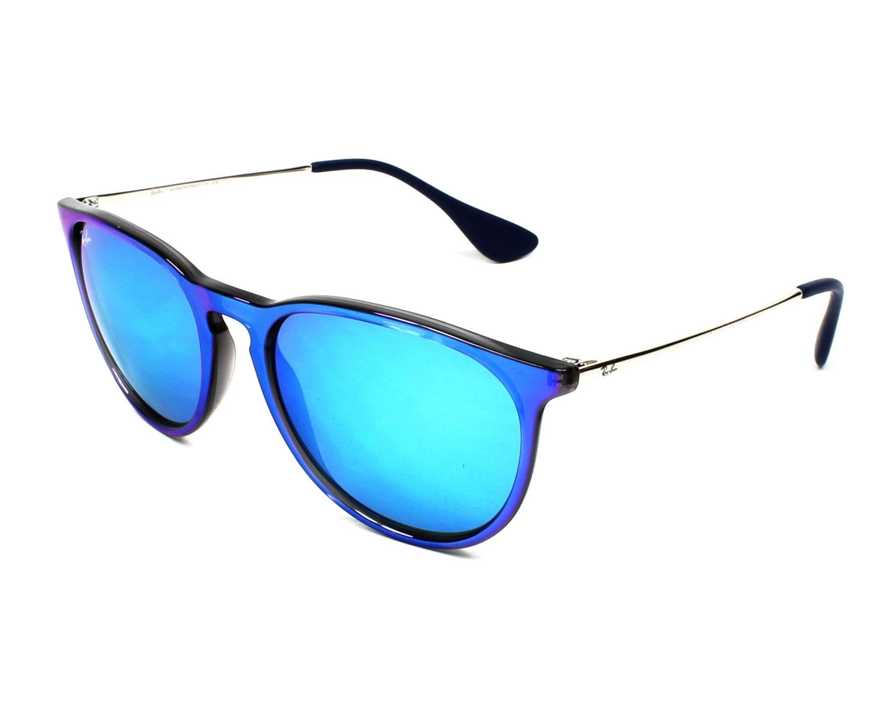 fa5ed118798ed Sunglasses Ray-Ban RB-4171 631855 - Blue Grey profile view