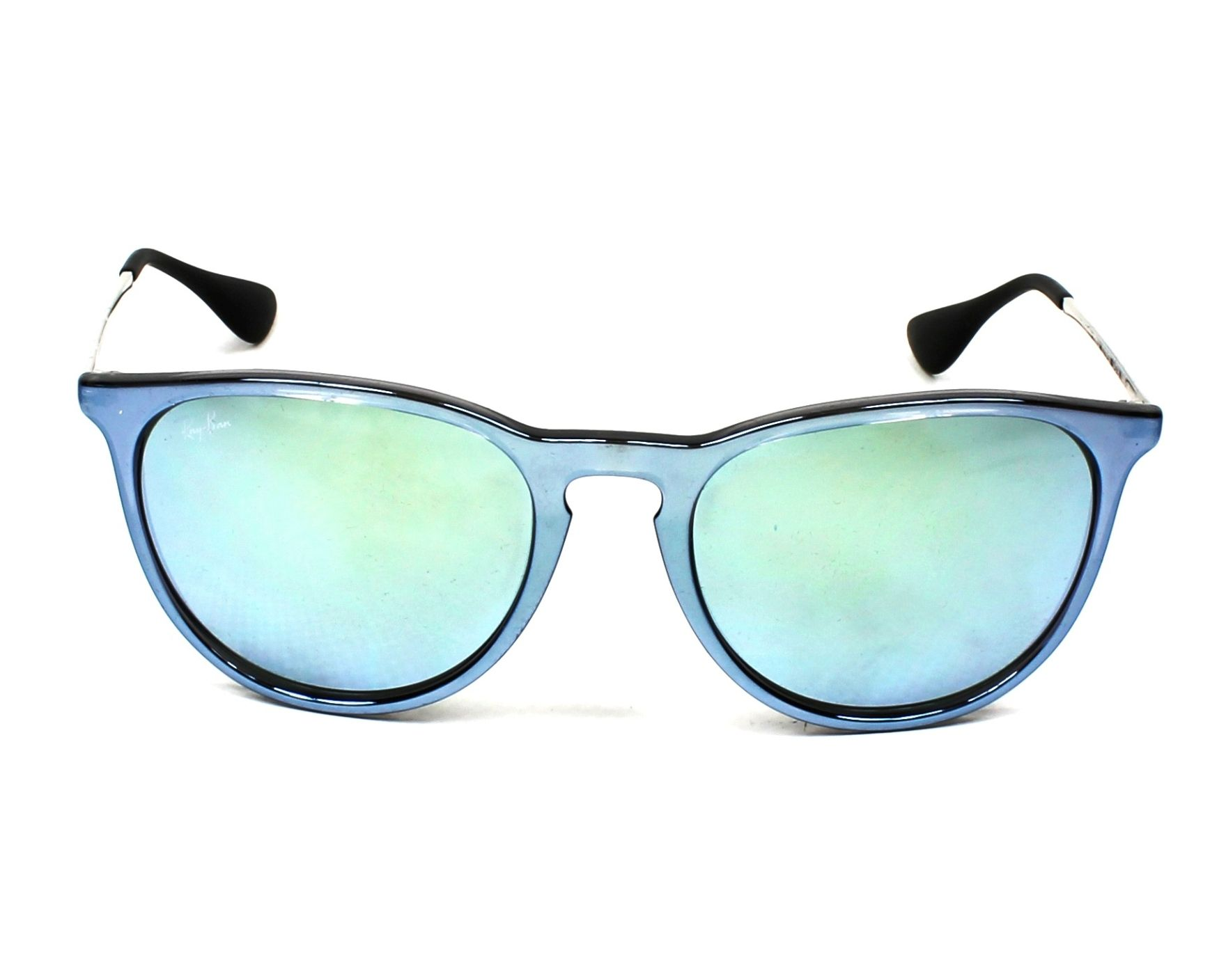 f929f6d3d26 Sunglasses Ray-Ban RB-4171 631930 54-17 Blue Silver front view
