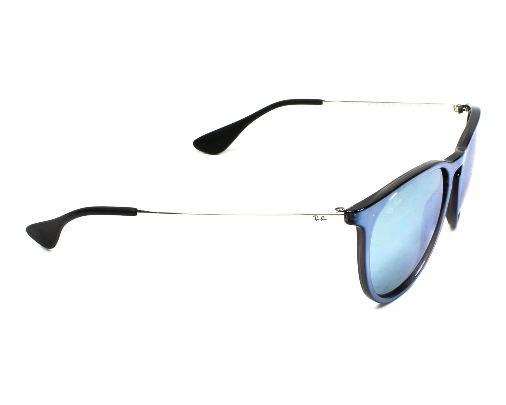 afb23e02e7d Sunglasses Ray-Ban RB-4171 631930 54-17 Blue Silver side view