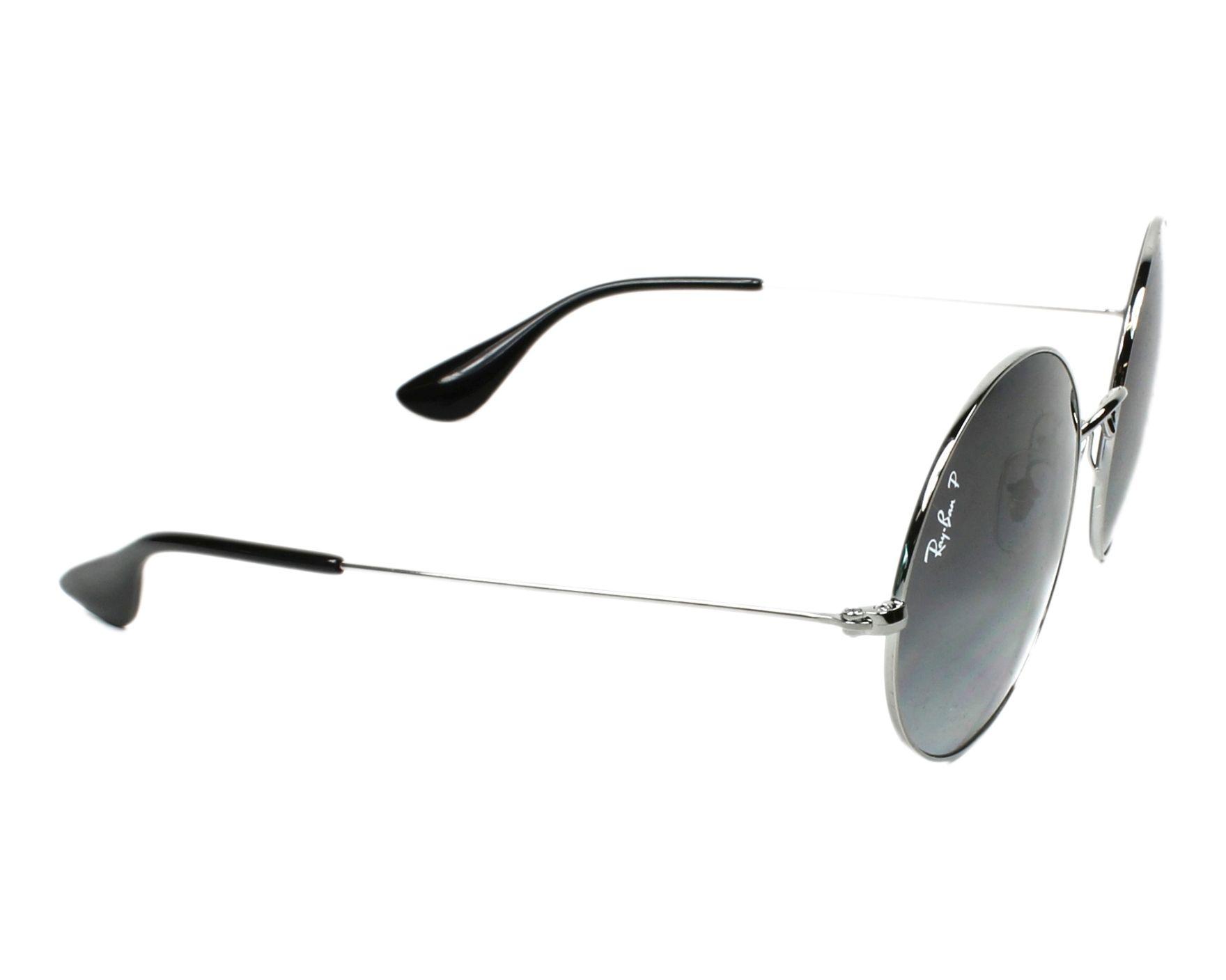7a801daa6a5 Sunglasses Ray-Ban RB-3592 004 T3 50-20 Gun side view