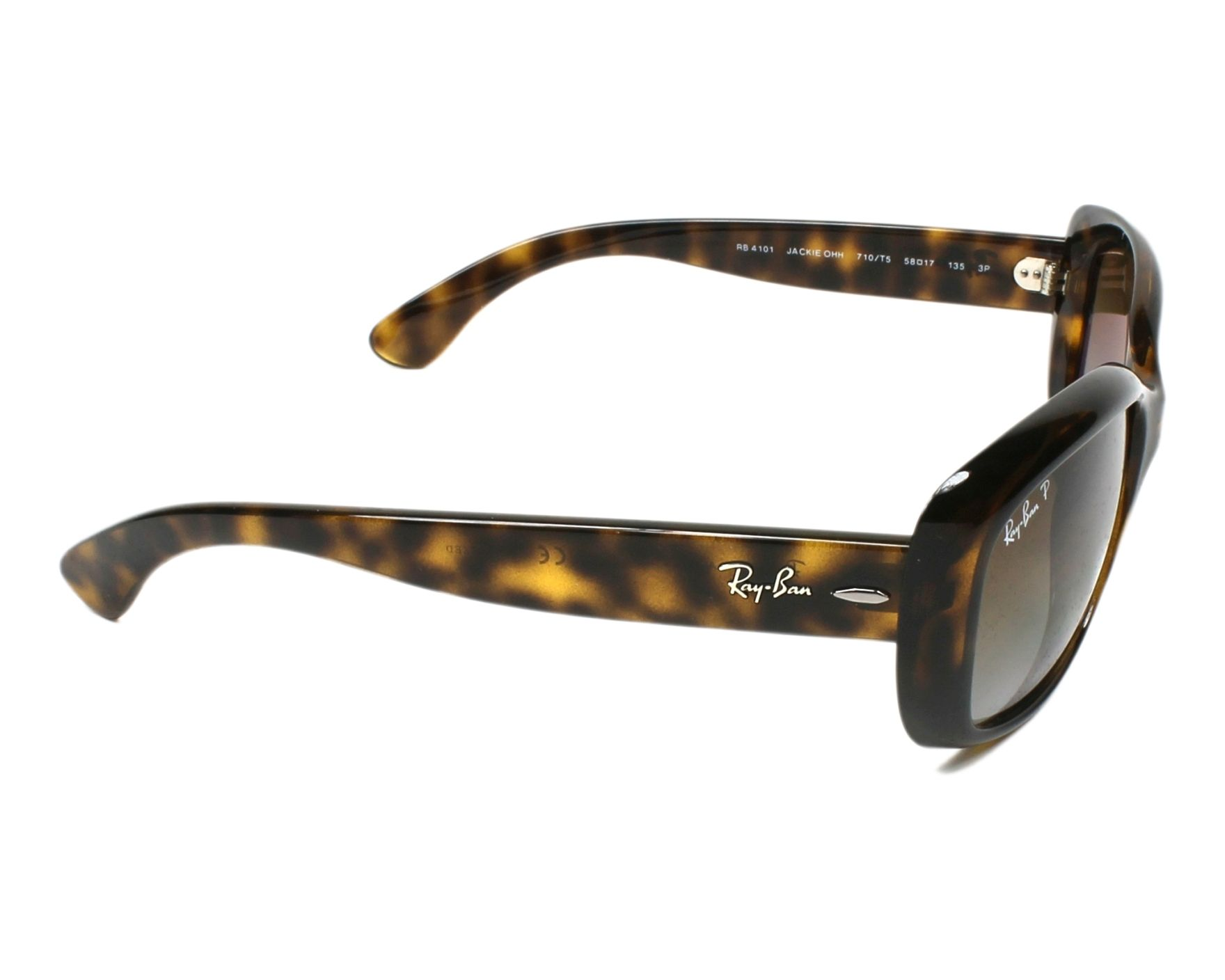 1130748ad1 Sunglasses Ray-Ban RB-4101 710 T5 58-19 Havana side view