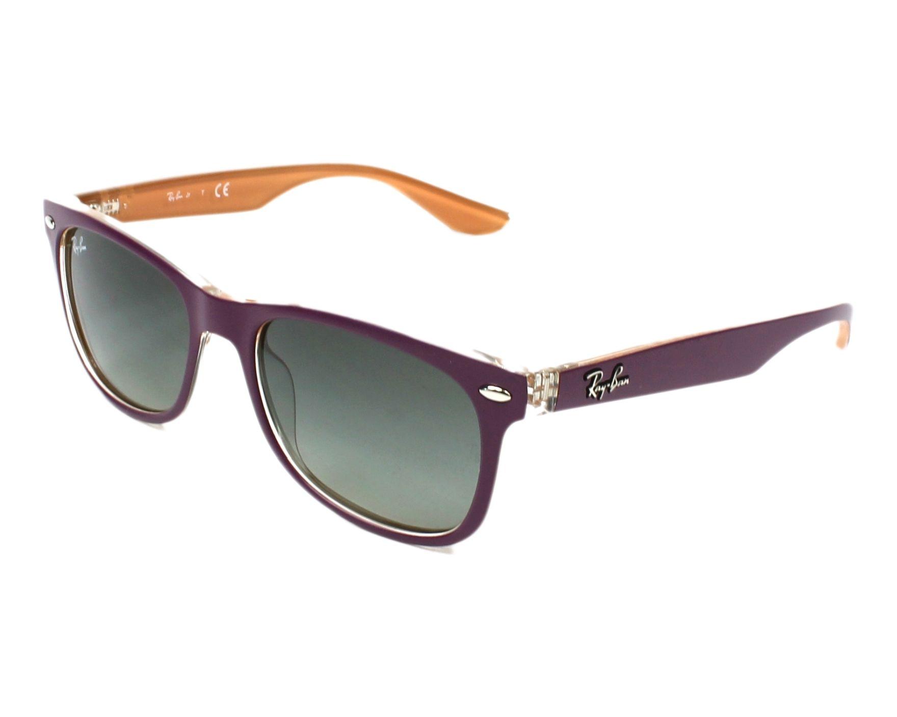 092621d8b46 Sunglasses RAY-BAN JUNIOR RJ 9052S 702211 48 16 Child noir Wayfarer .