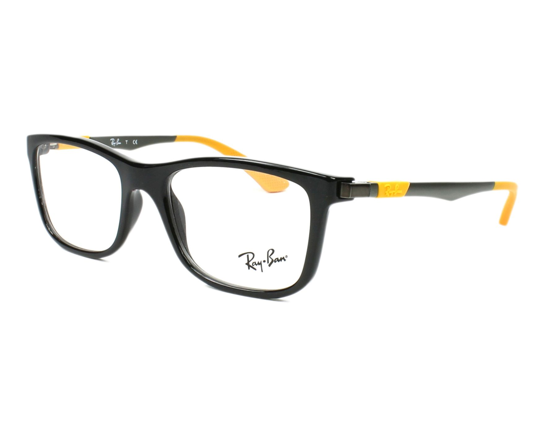 a39fd31ed95 ... coupon eyeglasses ray ban ry 1549 3733 48 16 black brown profile view  c8726 64b36