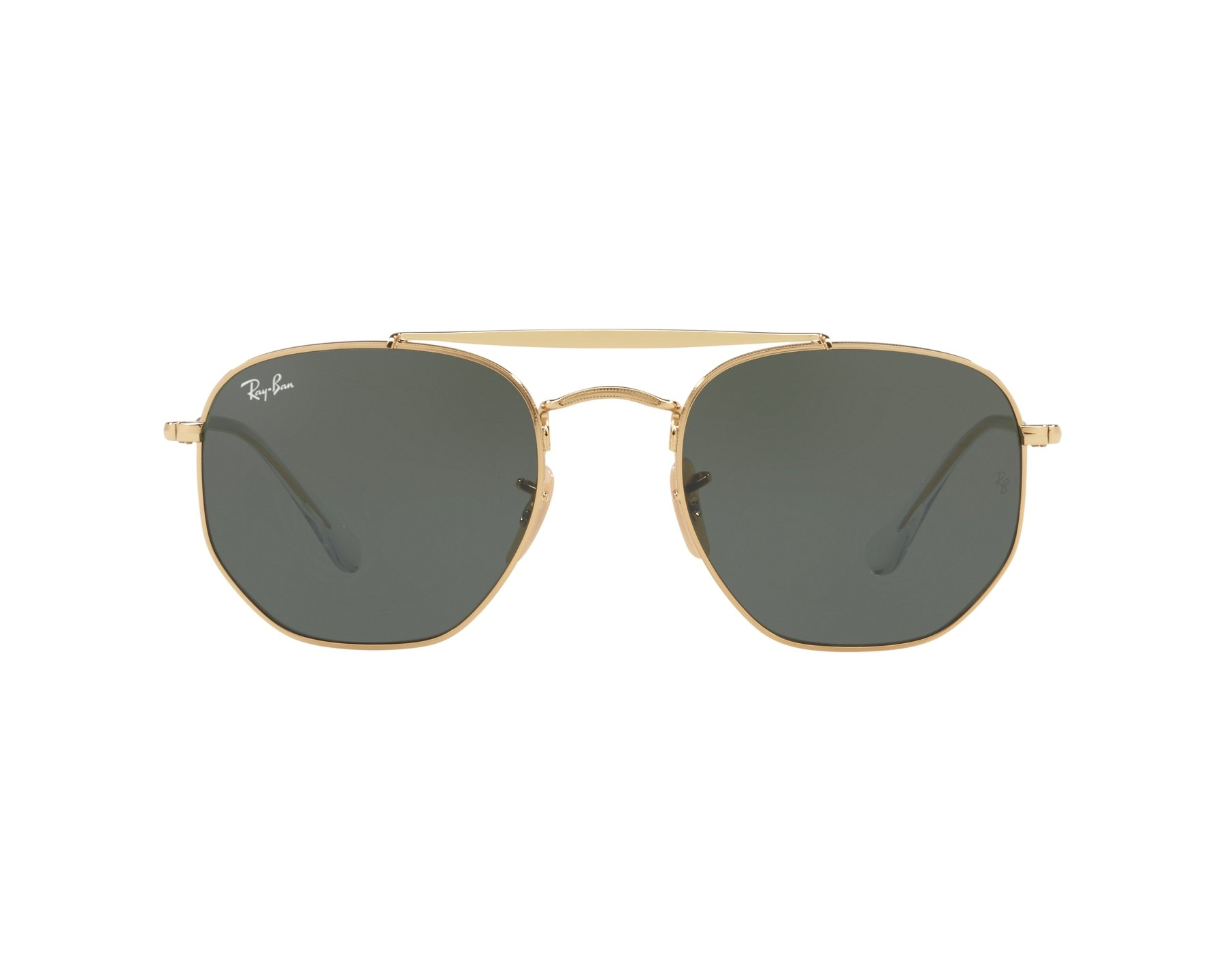 3611413bec23c Sunglasses Ray-Ban RB-3648 001 54-21 Gold 360 degree view 1