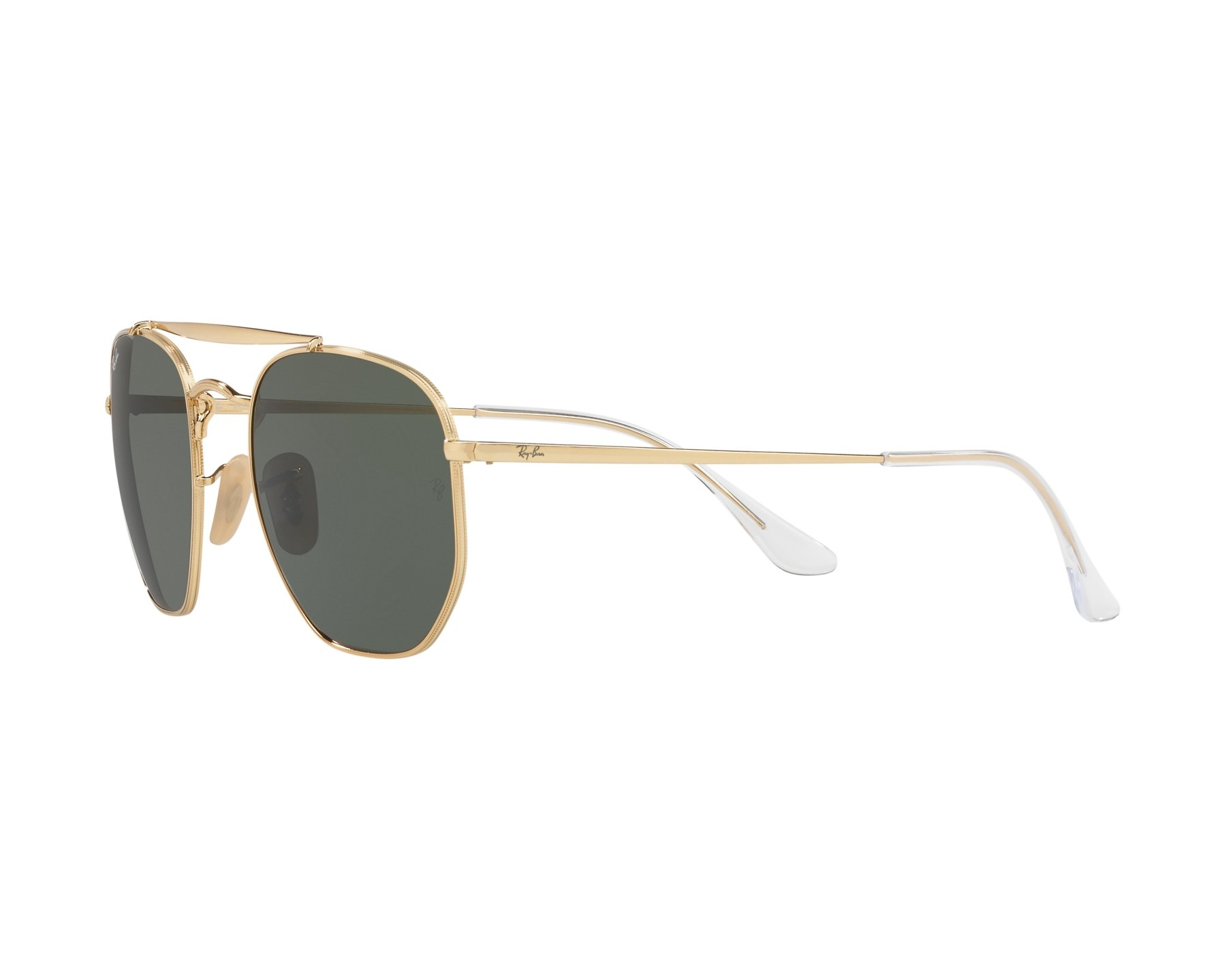 839ee9fa456 Sunglasses Ray-Ban RB-3648 001 54-21 Gold 360 degree view 3