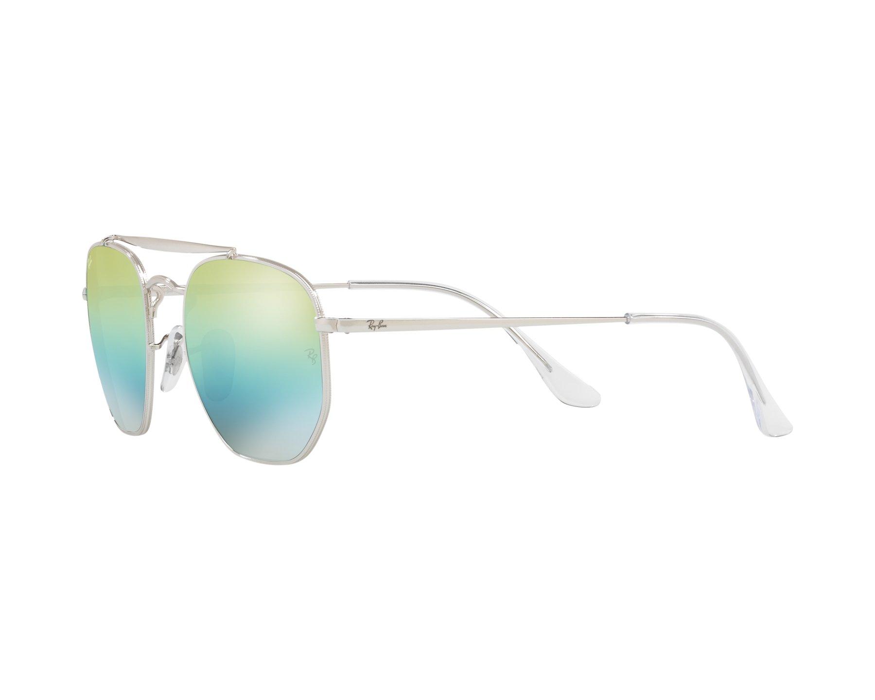 0b3fc6d8b56110 Sunglasses Ray-Ban RB-3648 003 l2 54-21 Silver 360 degree