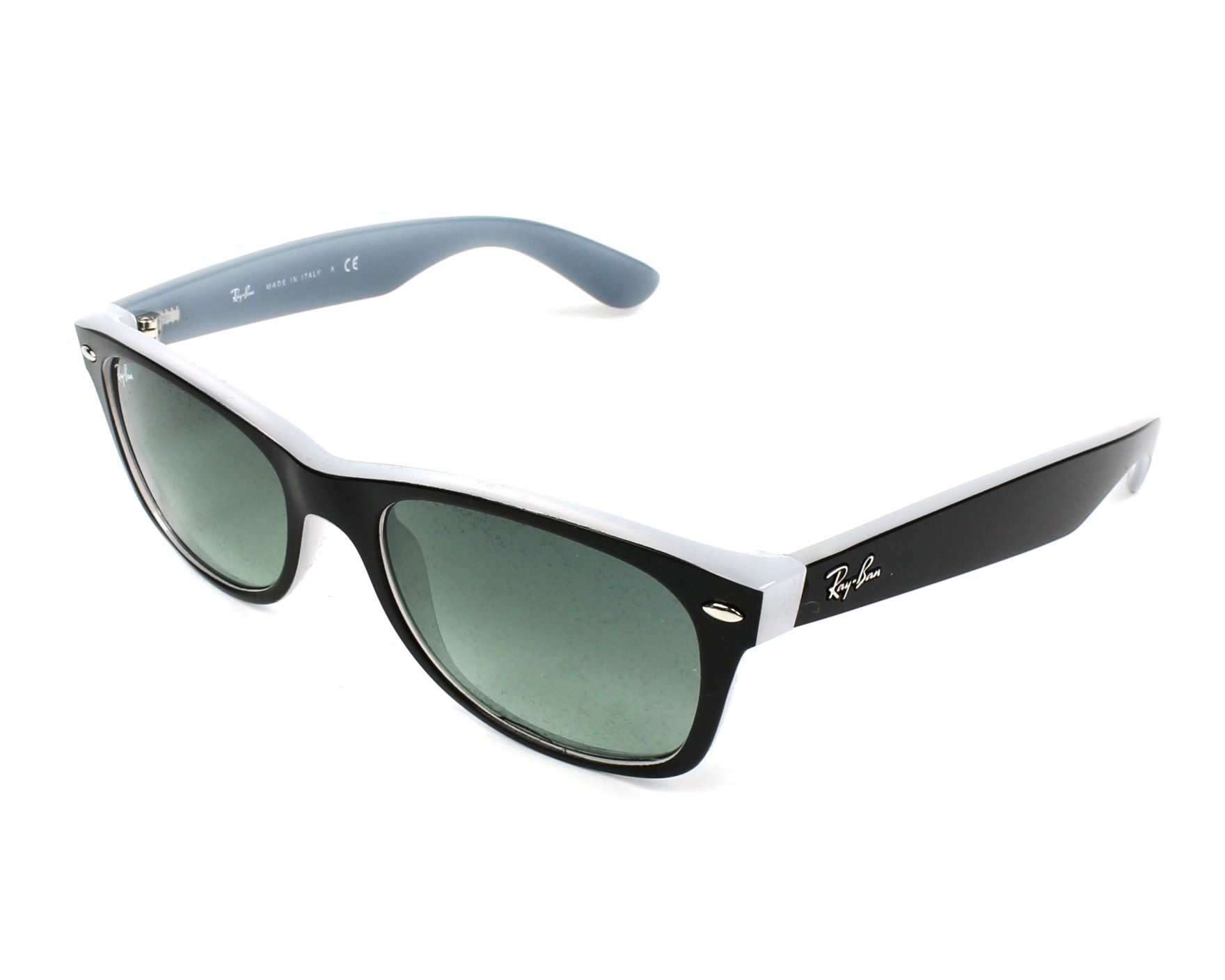 1113791c8662 Sunglasses Ray-Ban RB-2132 630971 55-18 Black Grey profile view