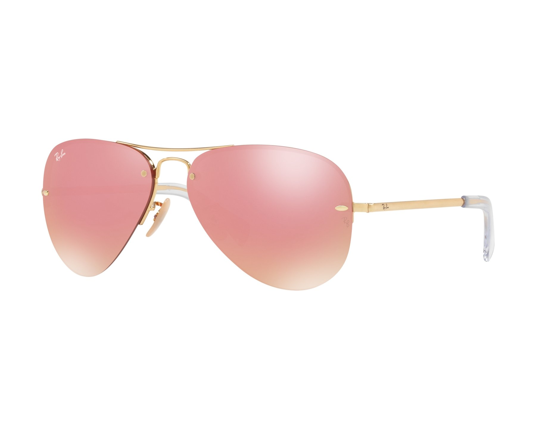 90526bcd2c Sunglasses Ray-Ban RB-3449 001 E4 59-14 Gold