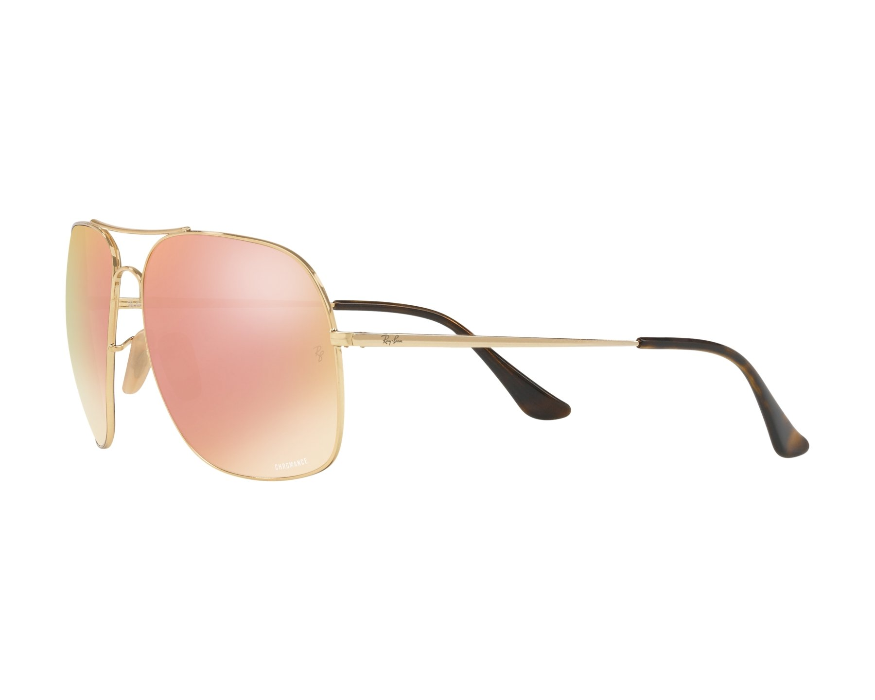 4392ef3aba Sunglasses Ray-Ban RB-3587-CH 001 l0 61-15 Gold