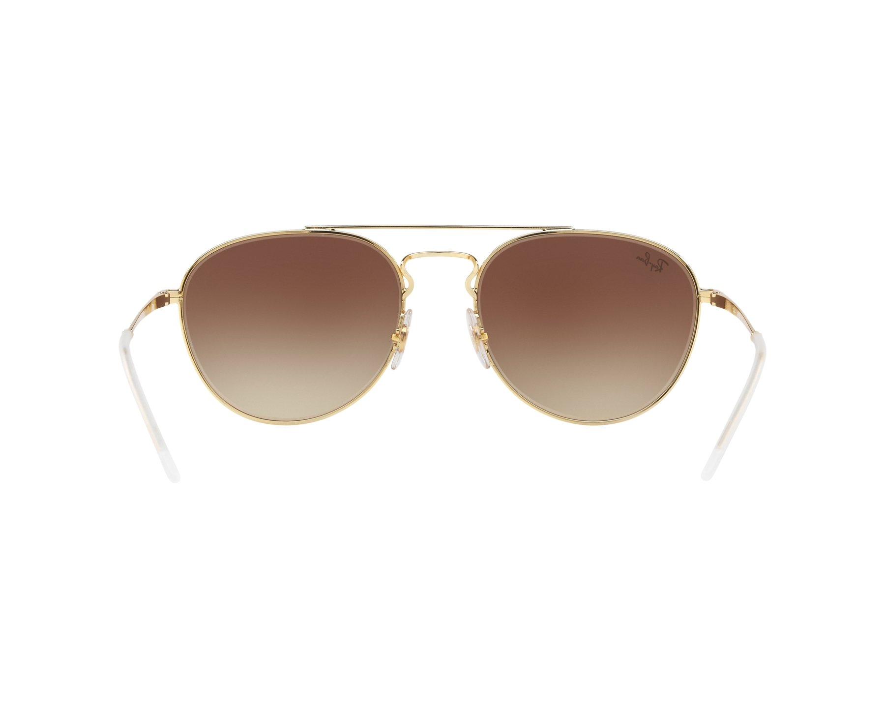 c663de133b Sunglasses Ray-Ban RB-3589 905513 55-18 Brown Gold 360 degree view