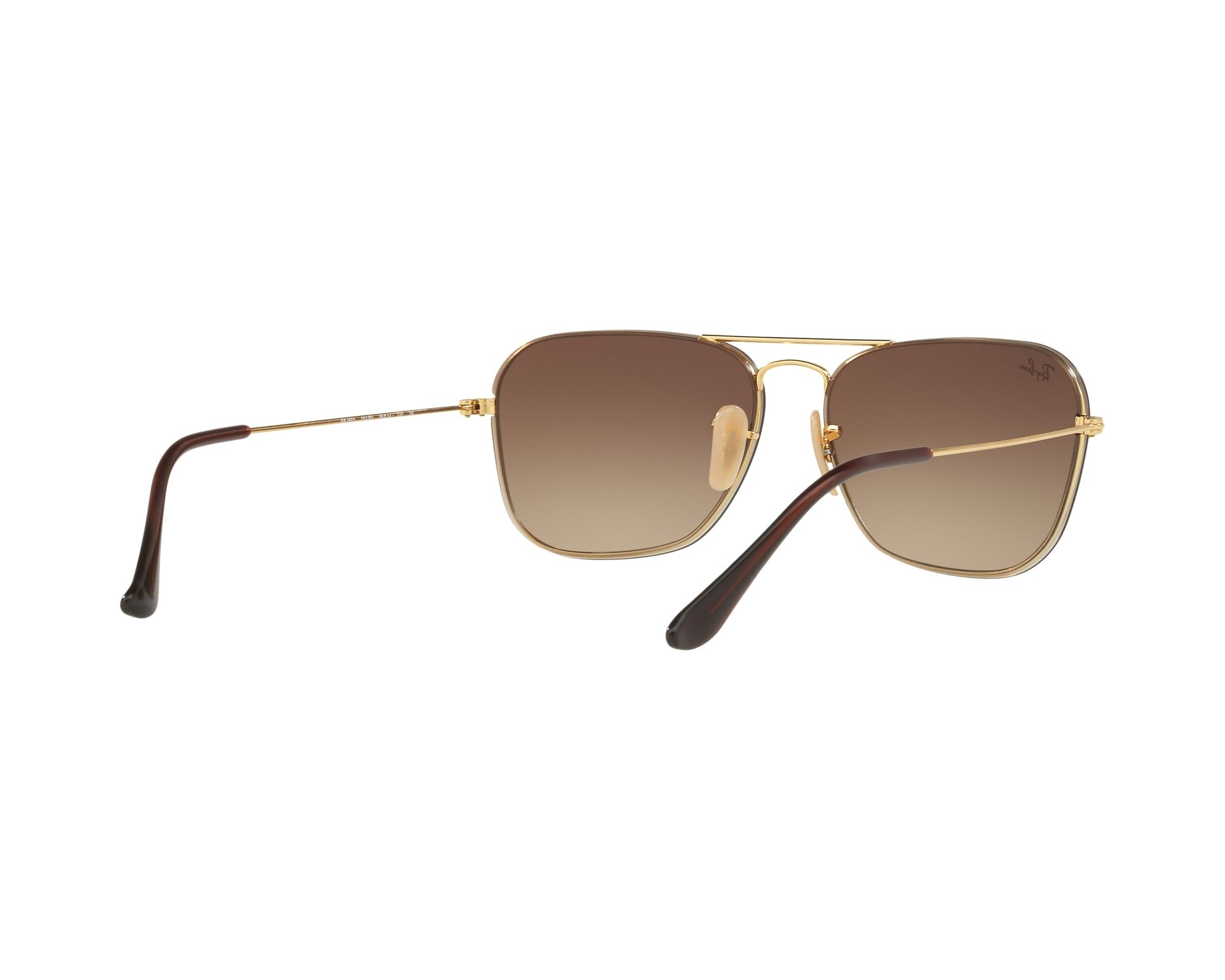 7064473464 Sunglasses Ray-Ban RB-3603 001 S0 56-14 Gold 360 degree