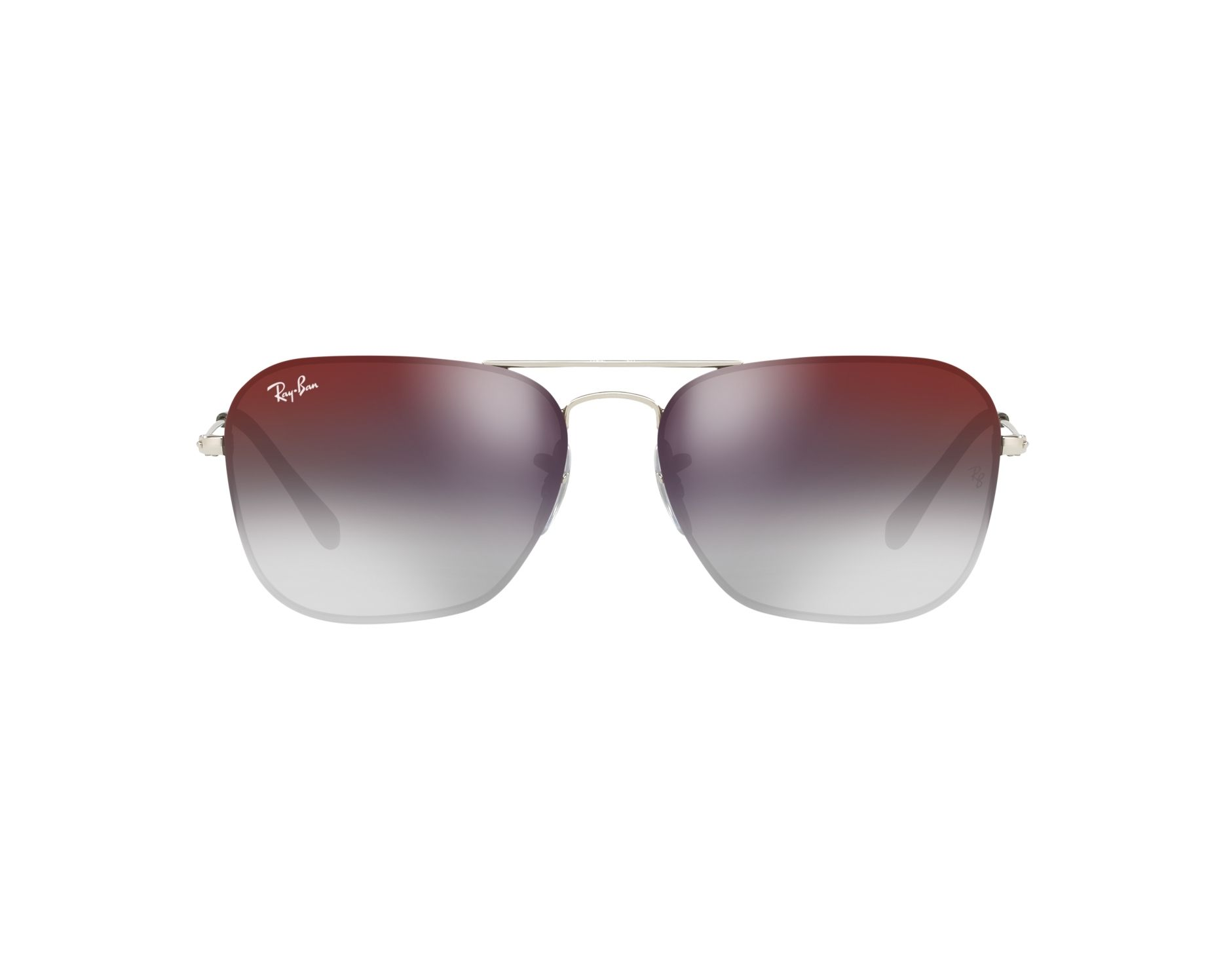 c49e301ff9e34 Sunglasses Ray-Ban RB-3603 003 U0 56-14 Silver 360 degree