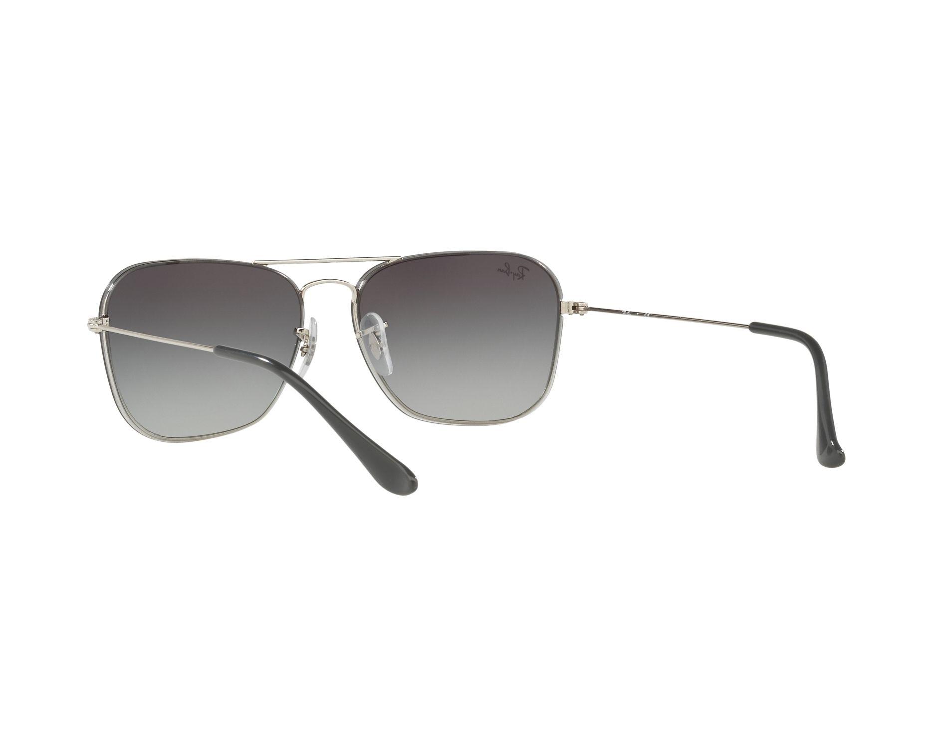 863c9d7a23 Sunglasses Ray-Ban RB-3603 003 U0 56-14 Silver 360 degree