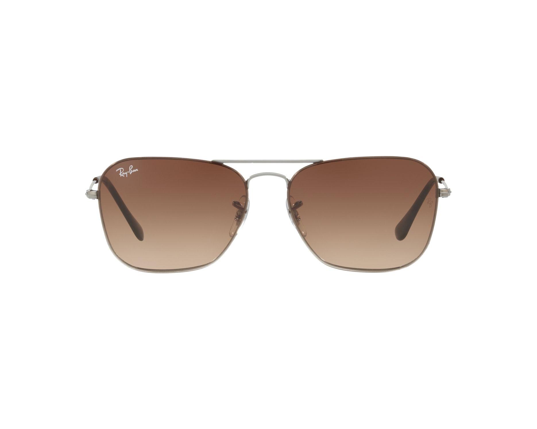 32bfeb0755 Sunglasses Ray-Ban RB-3603 004 13 56-14 Gun 360 degree