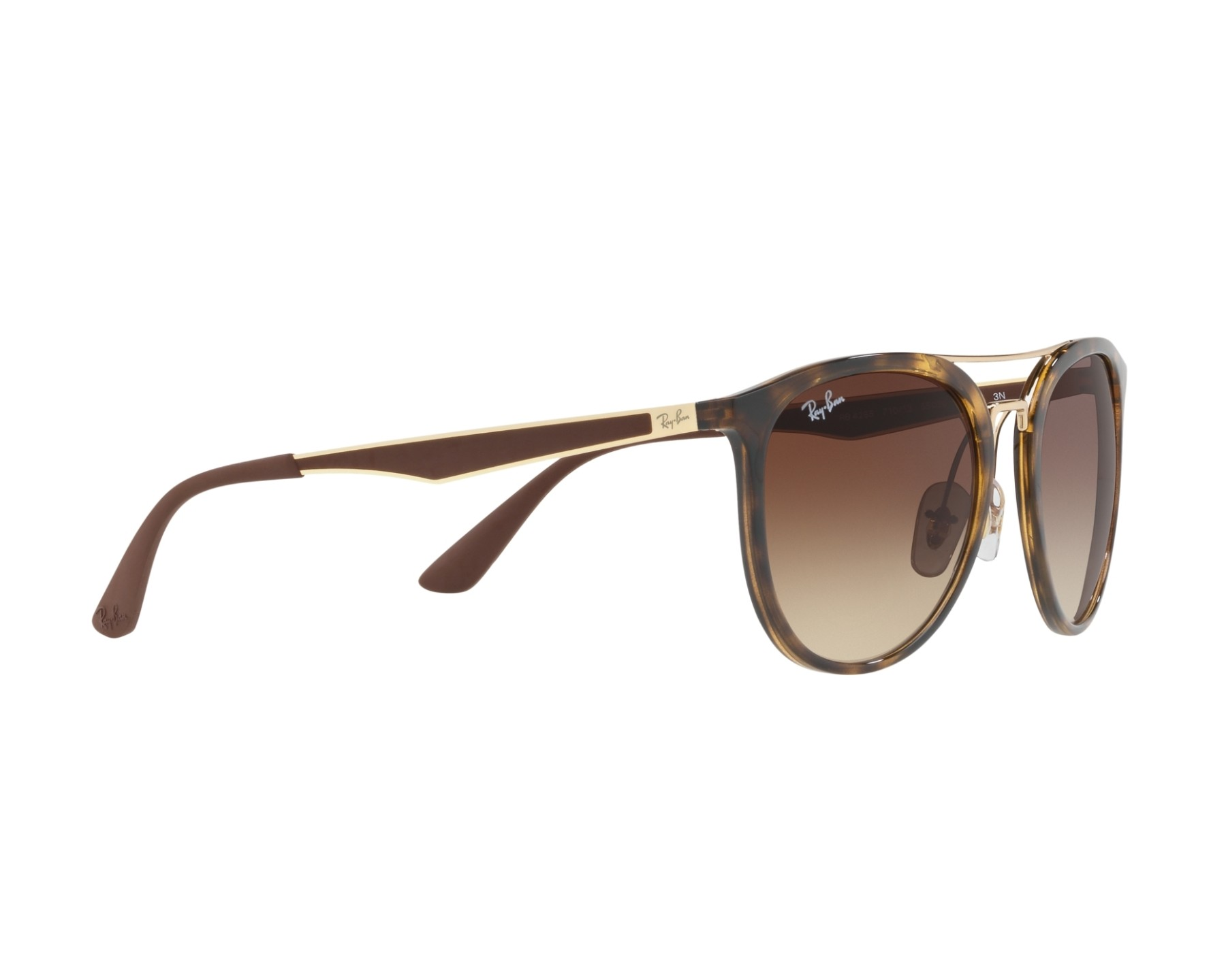 44e295f370 Sunglasses Ray-Ban RB-4285 710 13 - Havana Gold 360 degree view