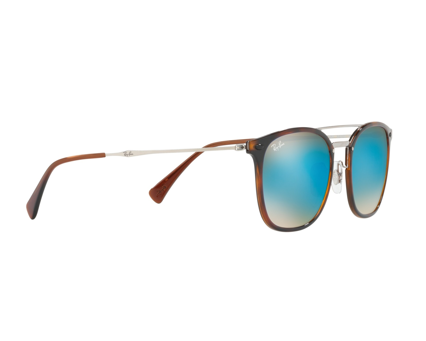 b44aa05299 Sunglasses Ray-Ban RB-4286 6257B7 55-21 Havana Silver 360 degree view