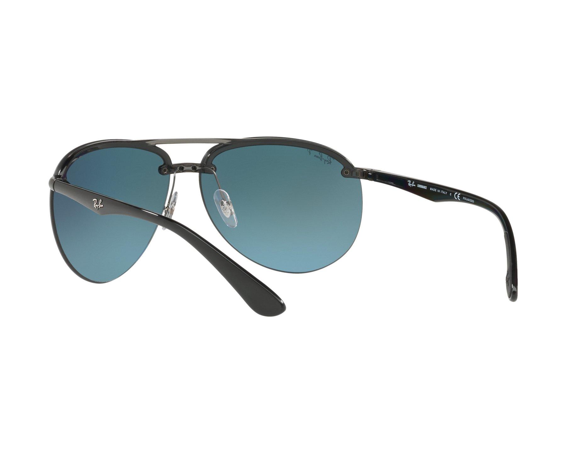 9a57096ba0d Sunglasses Ray-Ban RB-4293-CH 876 J0 - Grey Black 360