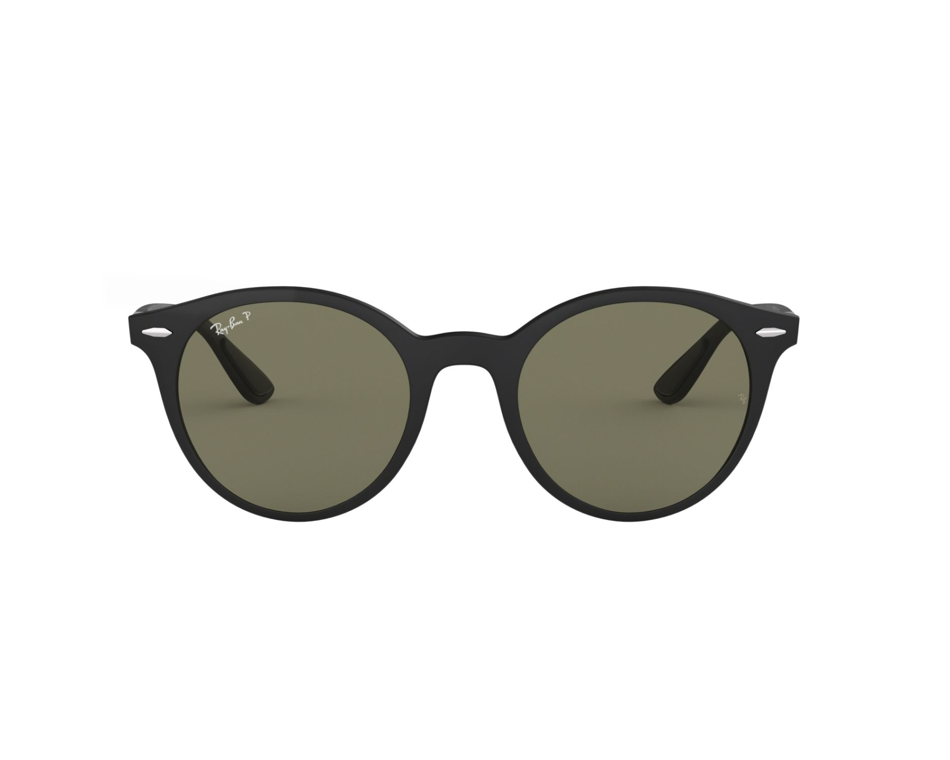 6f832b2353ca2 thumbnail Sunglasses Ray-Ban RB-4296 601S9A 51-21 Black 360 degree view